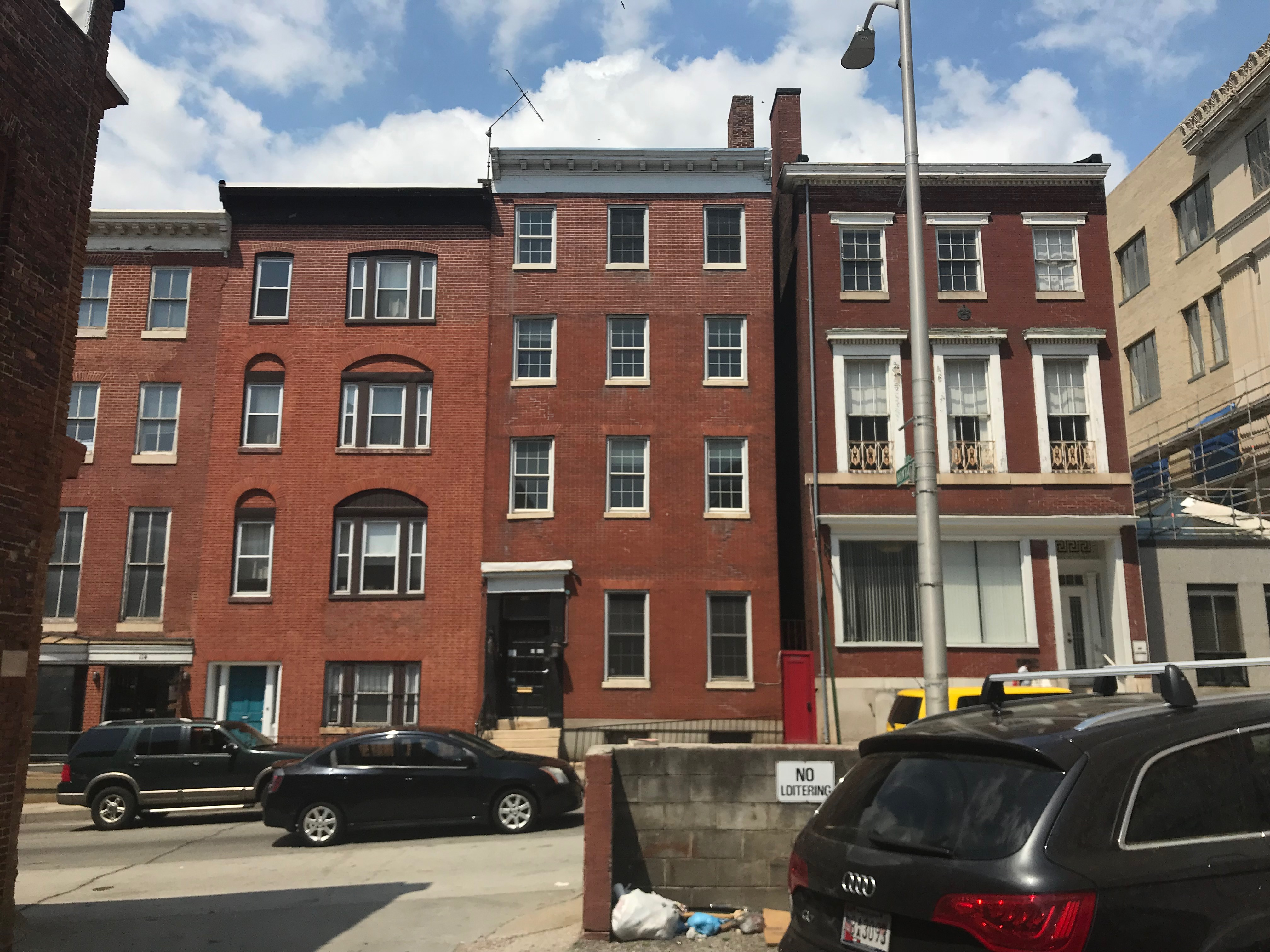 Rowhouses, 108–112 w. mulberry street, baltimore, md 21201 photo
