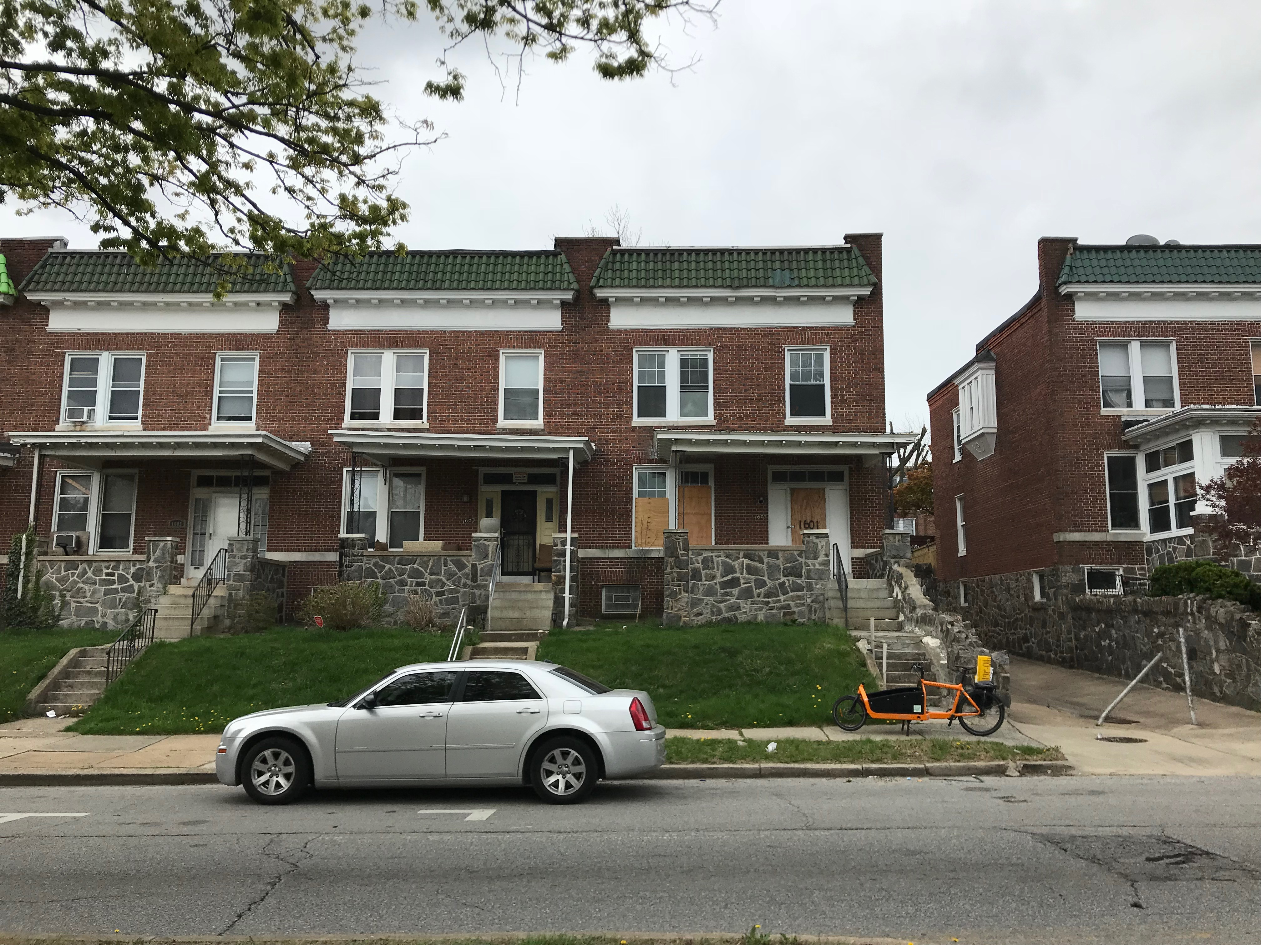 Rowhouses, 1601-1605 e. 33rd street, baltimore, md 21218 photo