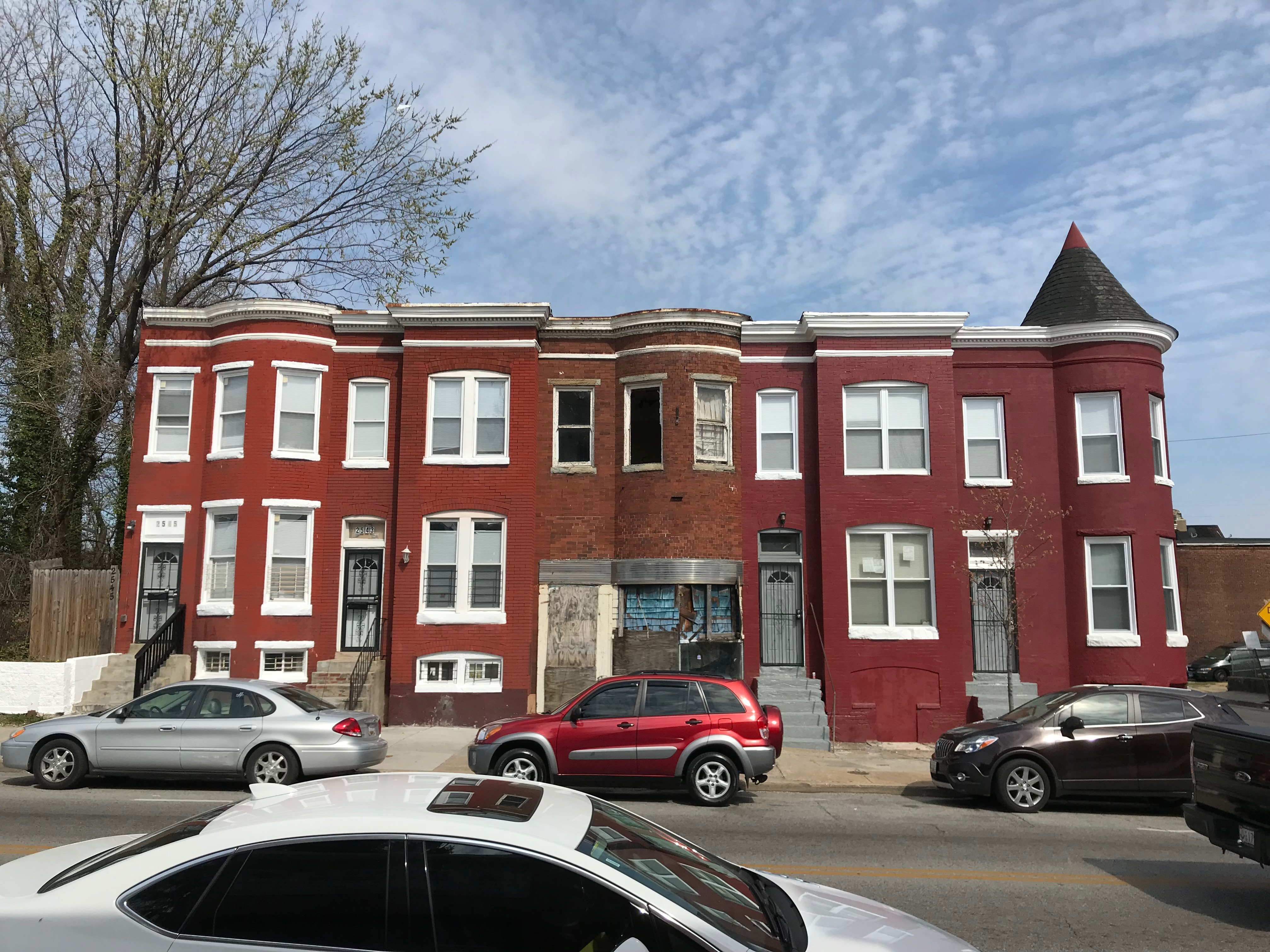 Rowhouses, 2537-2545 greenmount avenue, baltimore, md 21218 photo