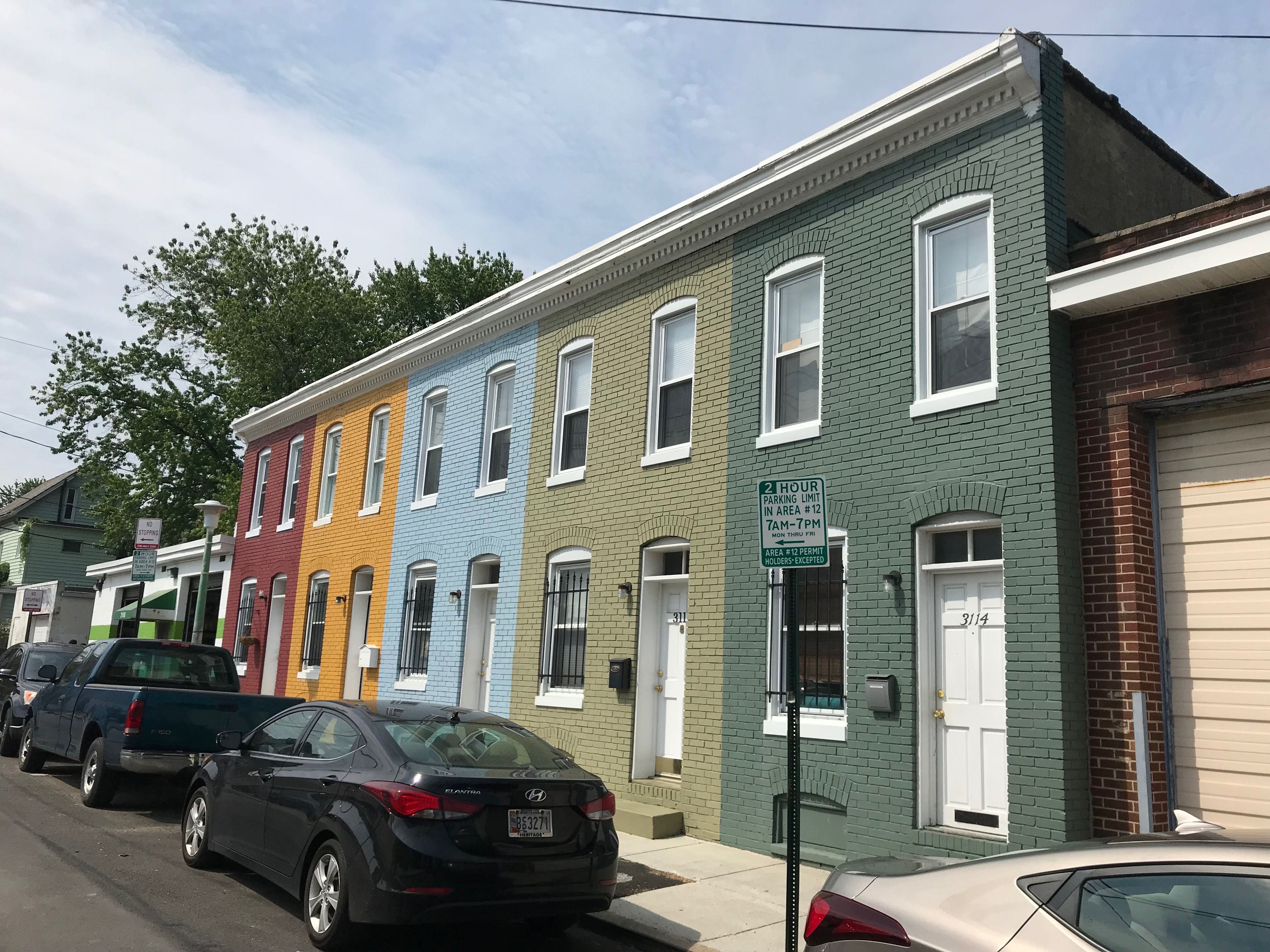 Rowhouses, 3106–3114 brentwood avenue, baltimore, md 21218 photo