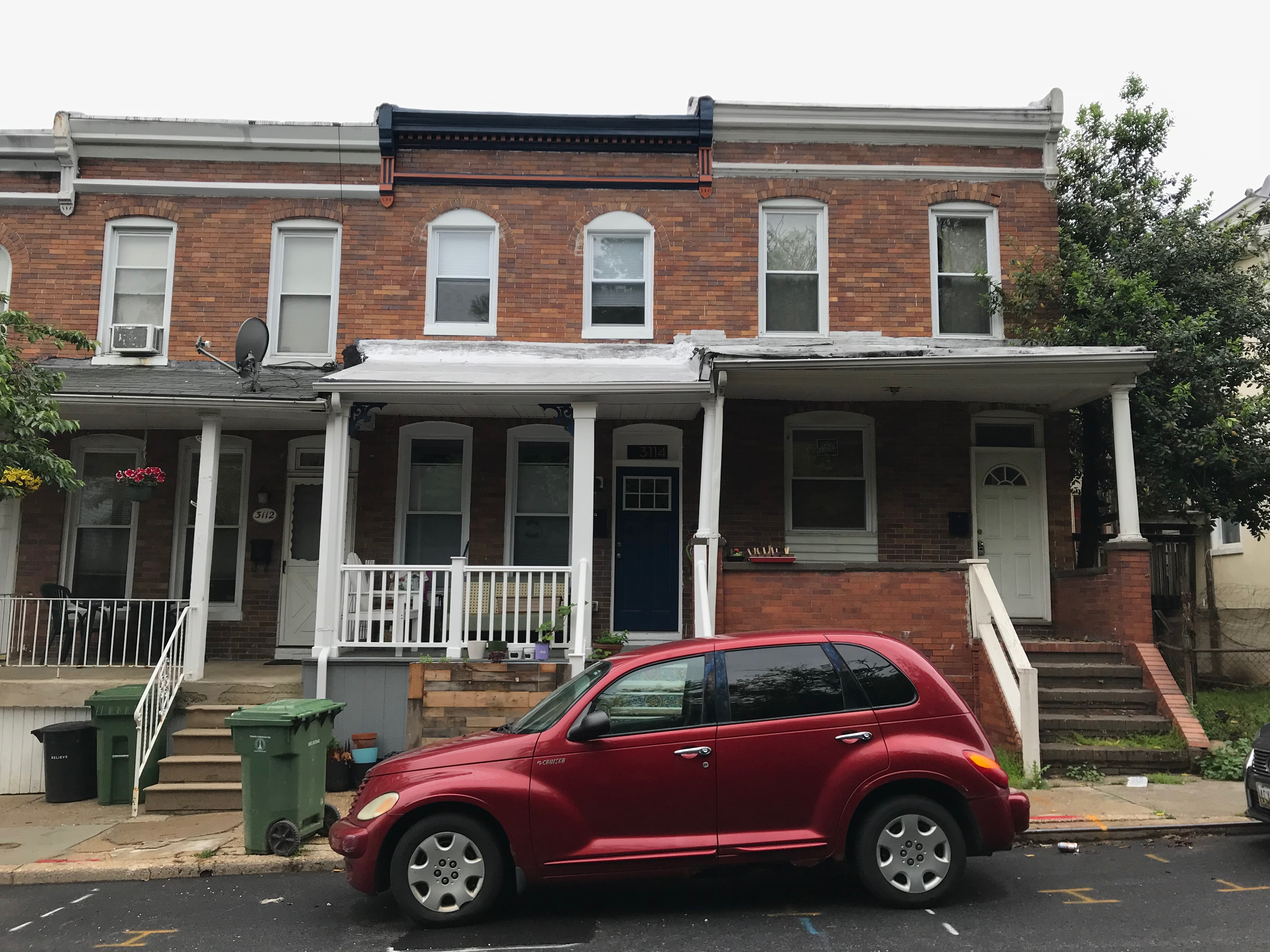 Rowhouses, 3112–3116 ellerslie avenue, baltimore, md 21218 photo