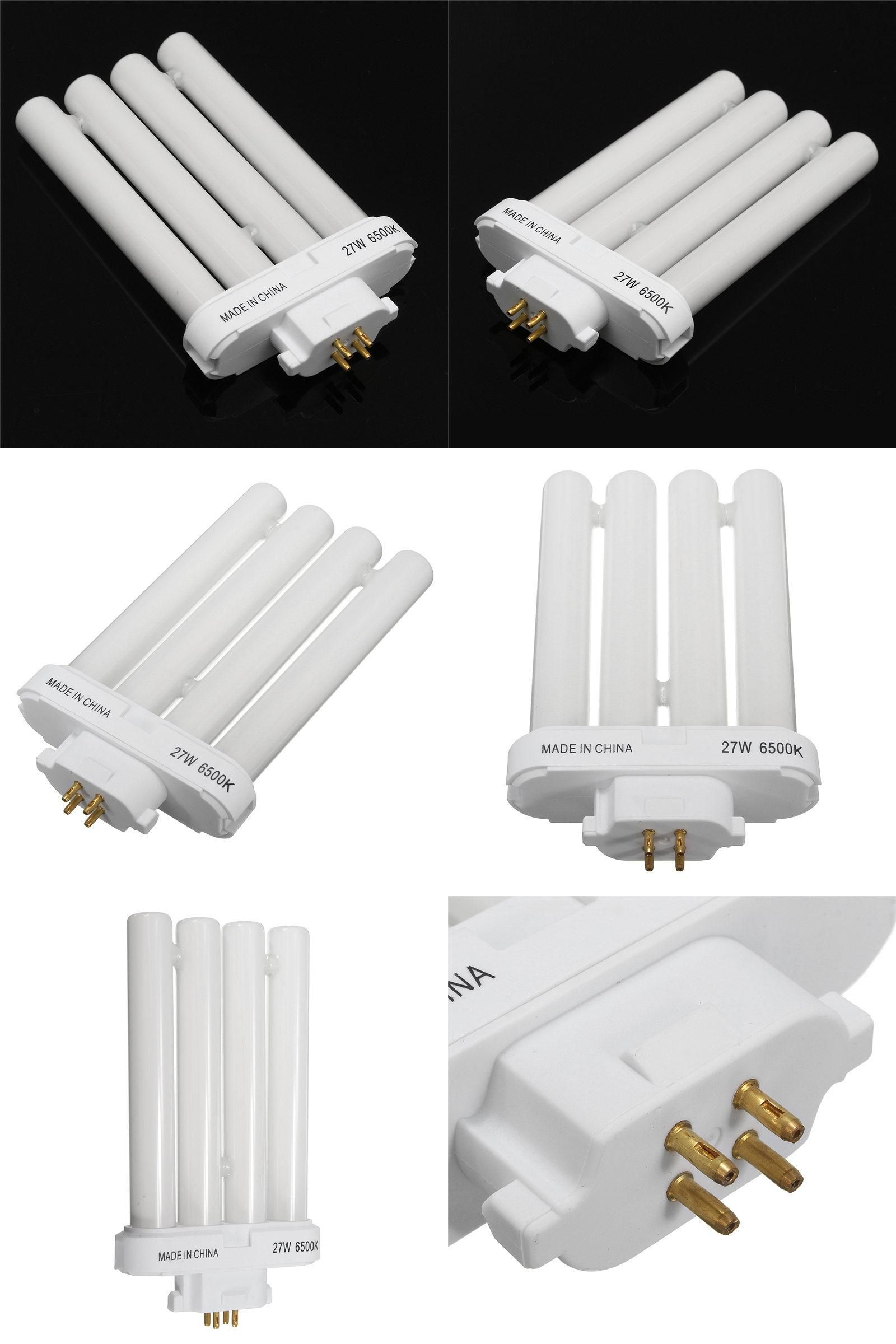 Visit to Buy] 4 Rows Light Bulb 27W 6500K 4-Pin Tube Compact ...