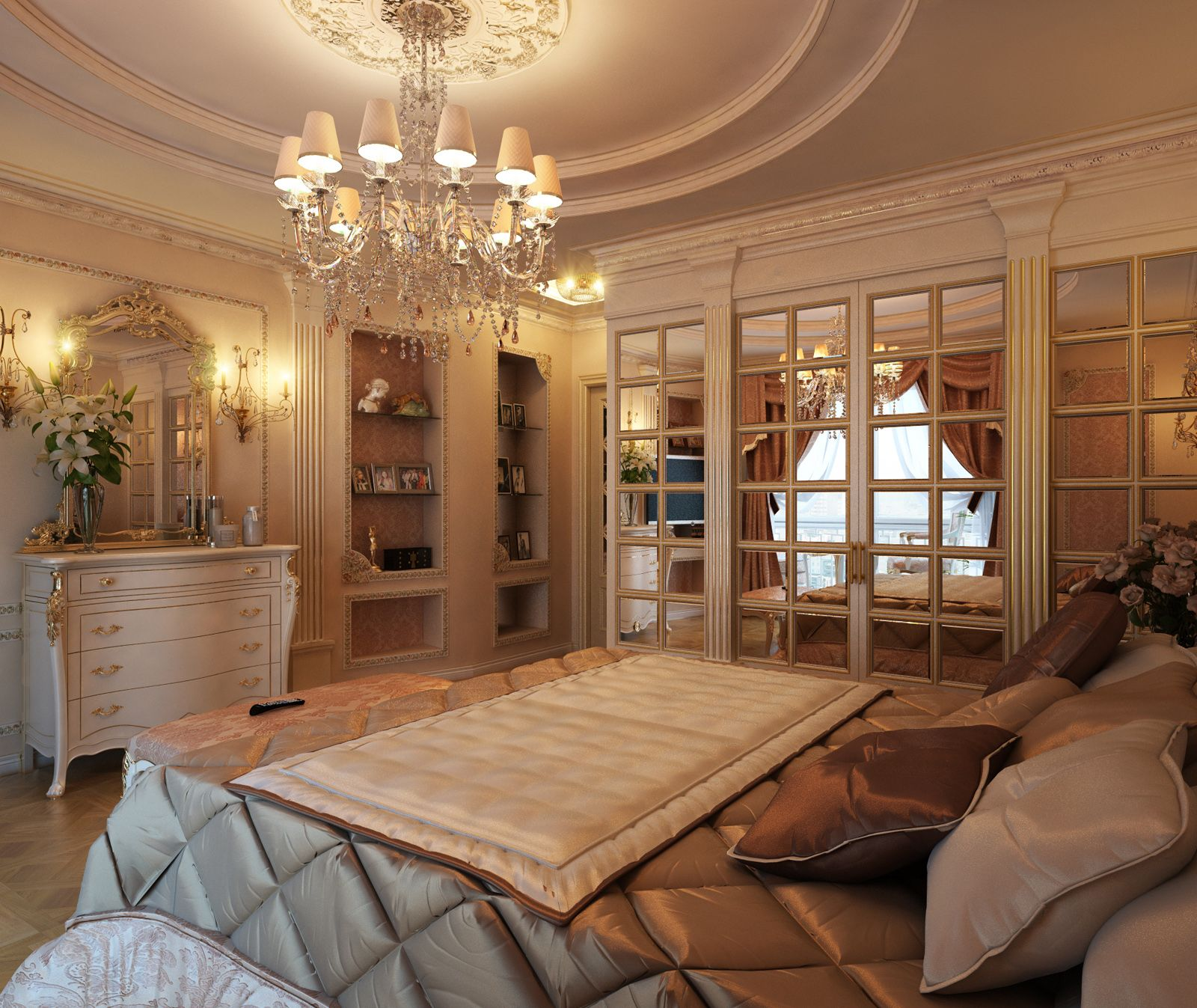 Royal touch In Bedroom | BEDROOMS | Pinterest | Royal bedroom ...