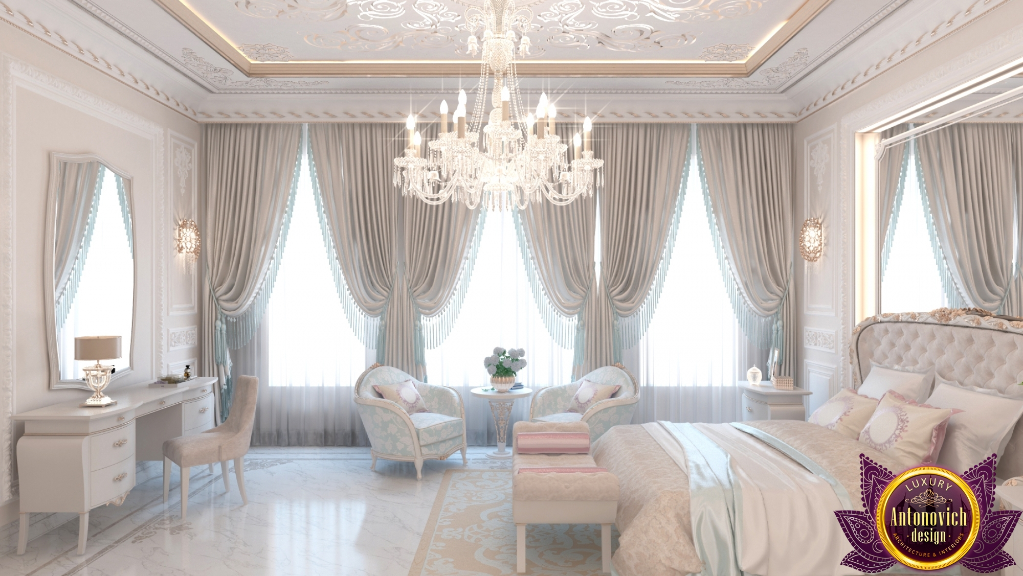 Free photo: Royal Bedroom - pillow, living, light - Non-Commercial ...