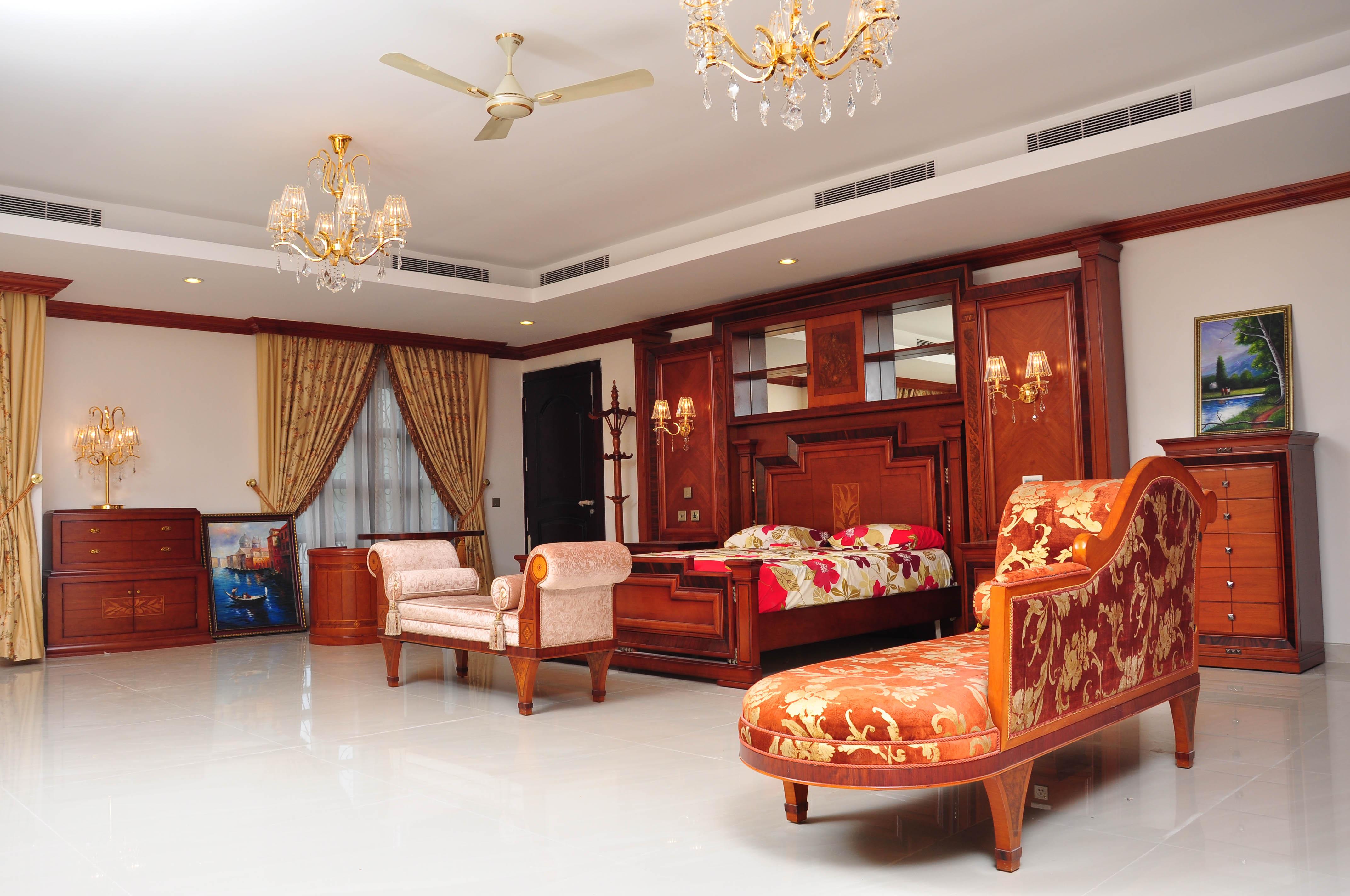Royal Rooms, Architect, Light, Wooden, Villa, HQ Photo