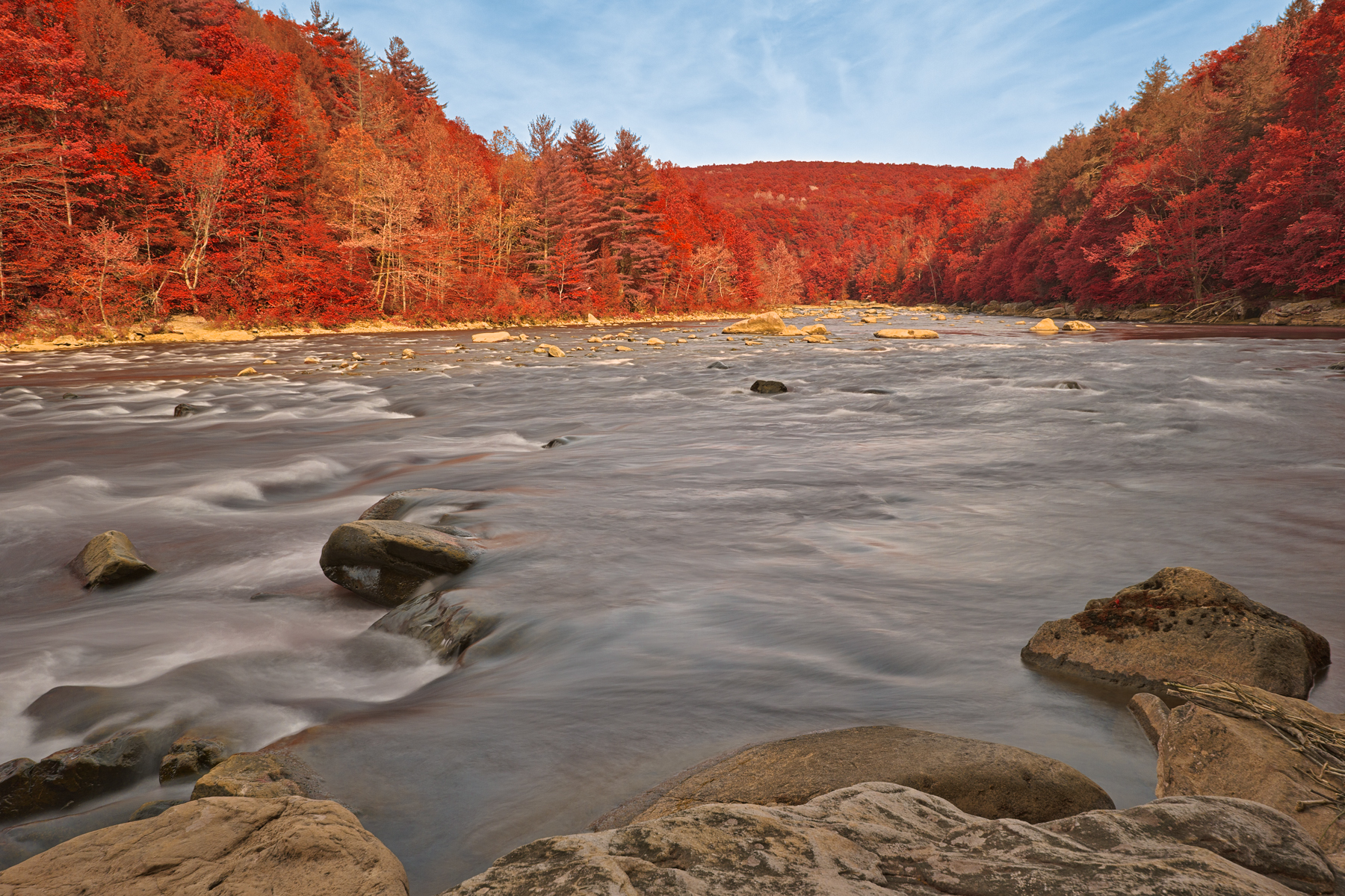 Ruby youghiogheny river - hdr photo