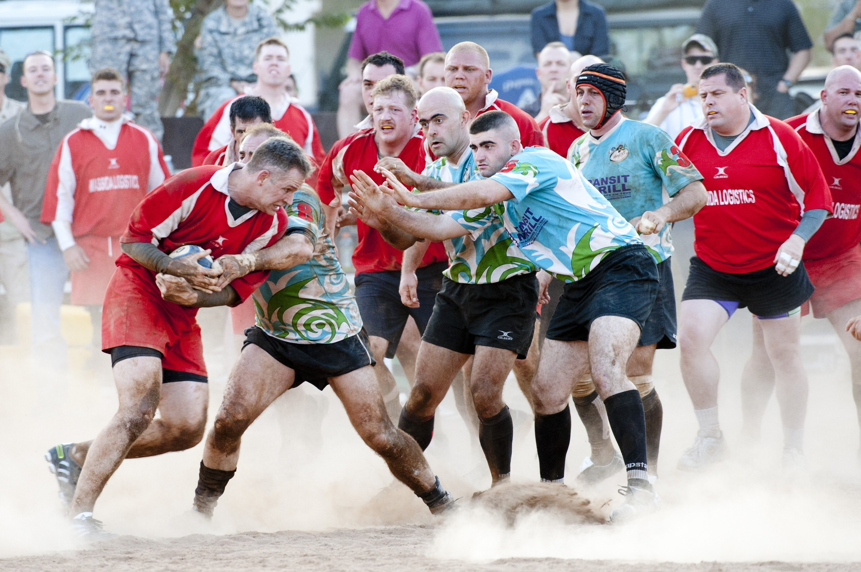 Rugby players photo