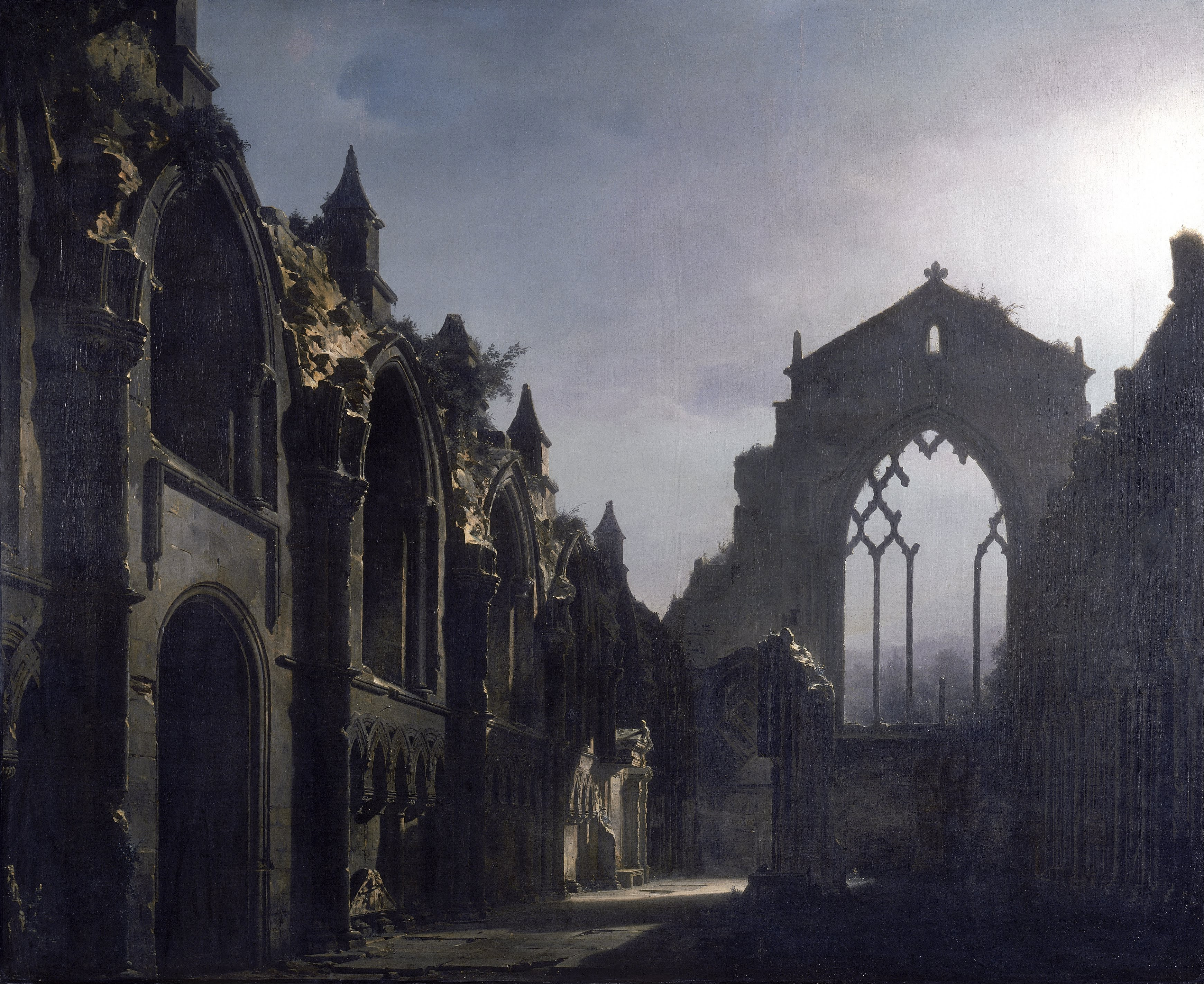 The Ruins of Holyrood Chapel - Wikipedia