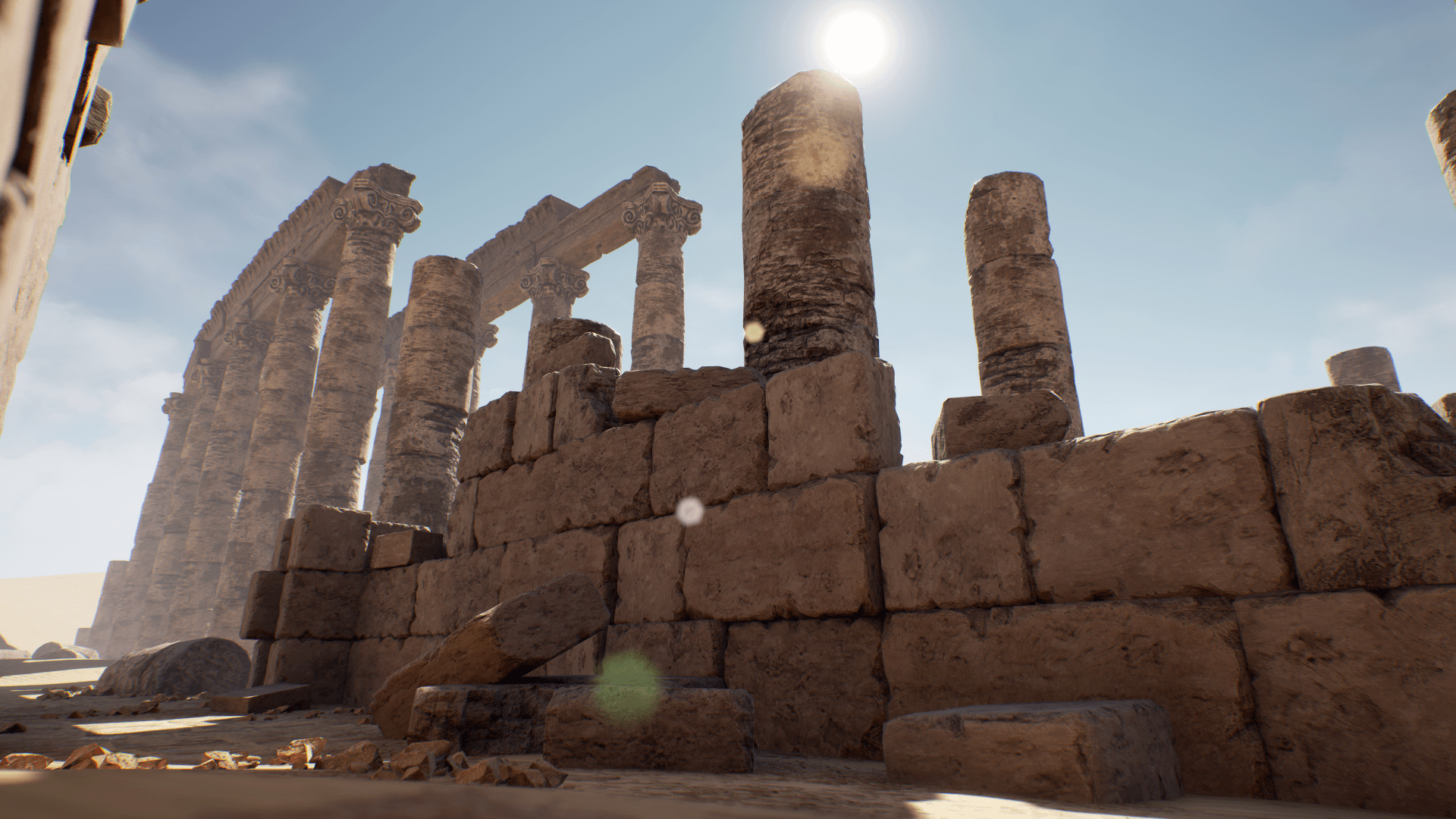 Modular Desert Ruins by CGMontreal in Environments - UE4 Marketplace