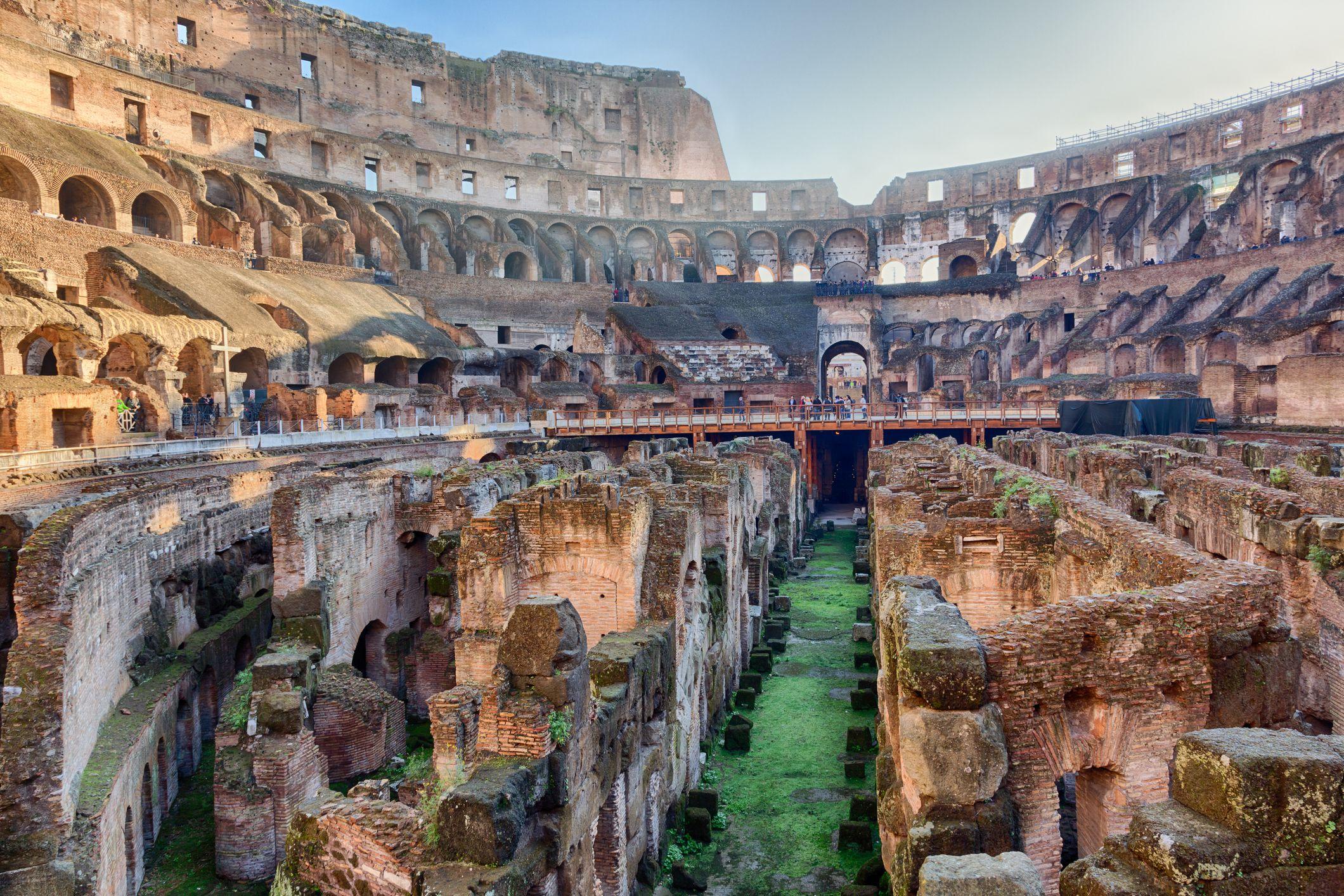 Ruins of rome photo