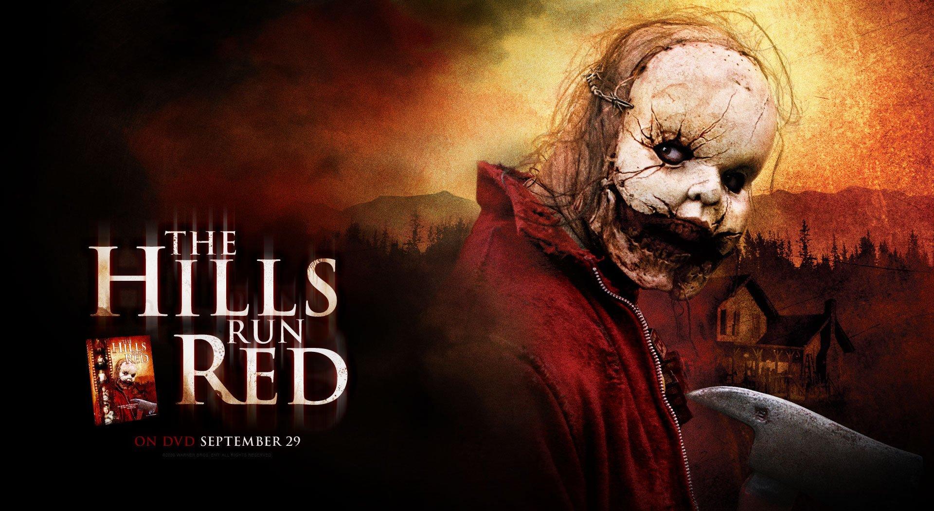 HILLS RUN RED horror thriller dark evil killer 1hillsred mask ...