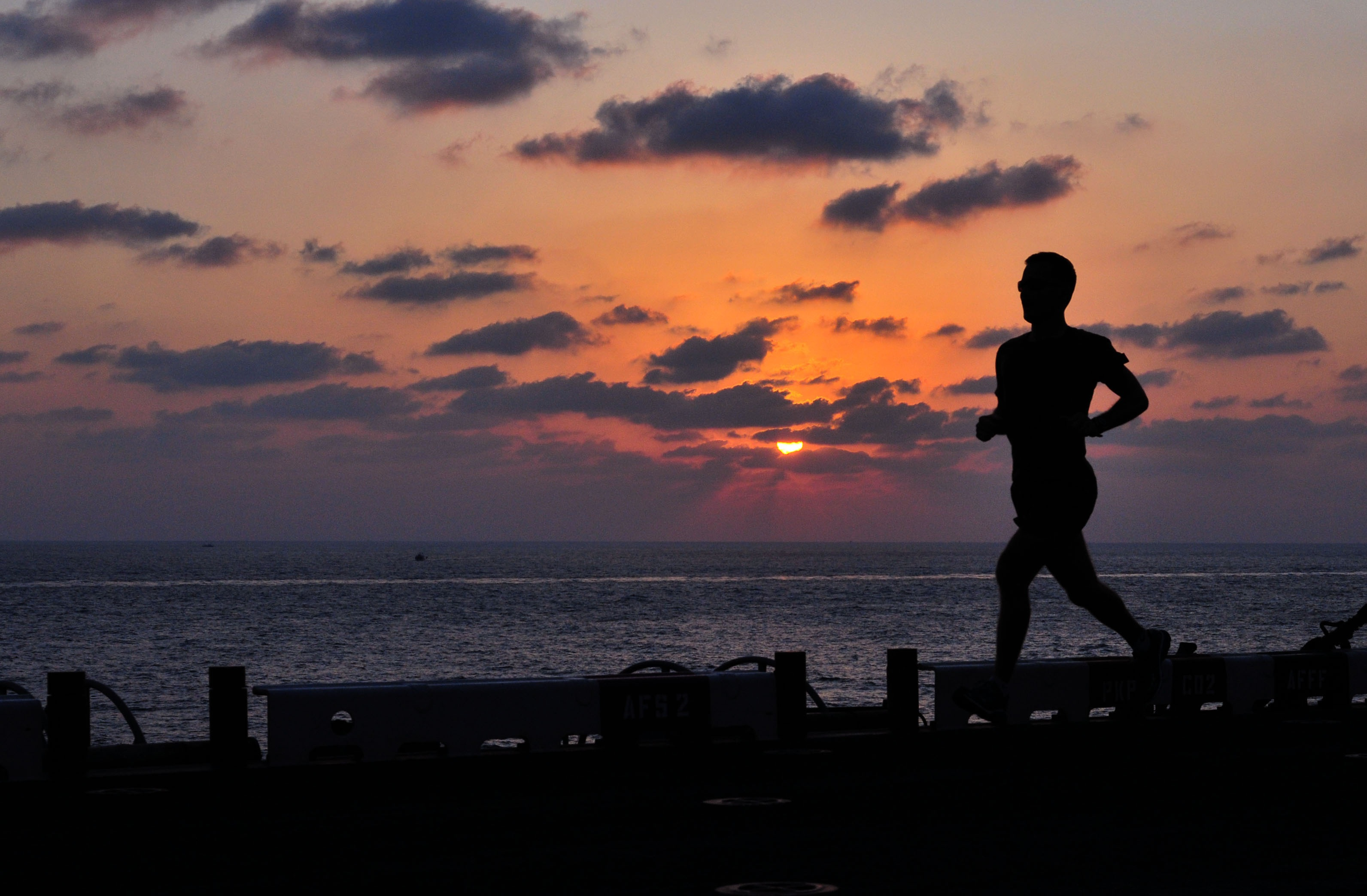 Runner on the Beach, Activity, Beach, Fit, Fitness, HQ Photo