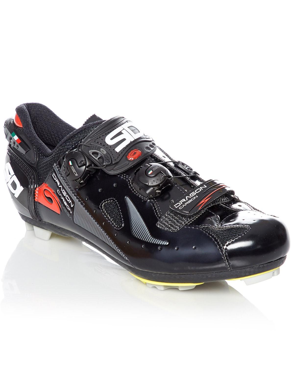 Sidi Black Black Dragon 4 SRS Lucid Mega MTB Shoe | Sidi ...