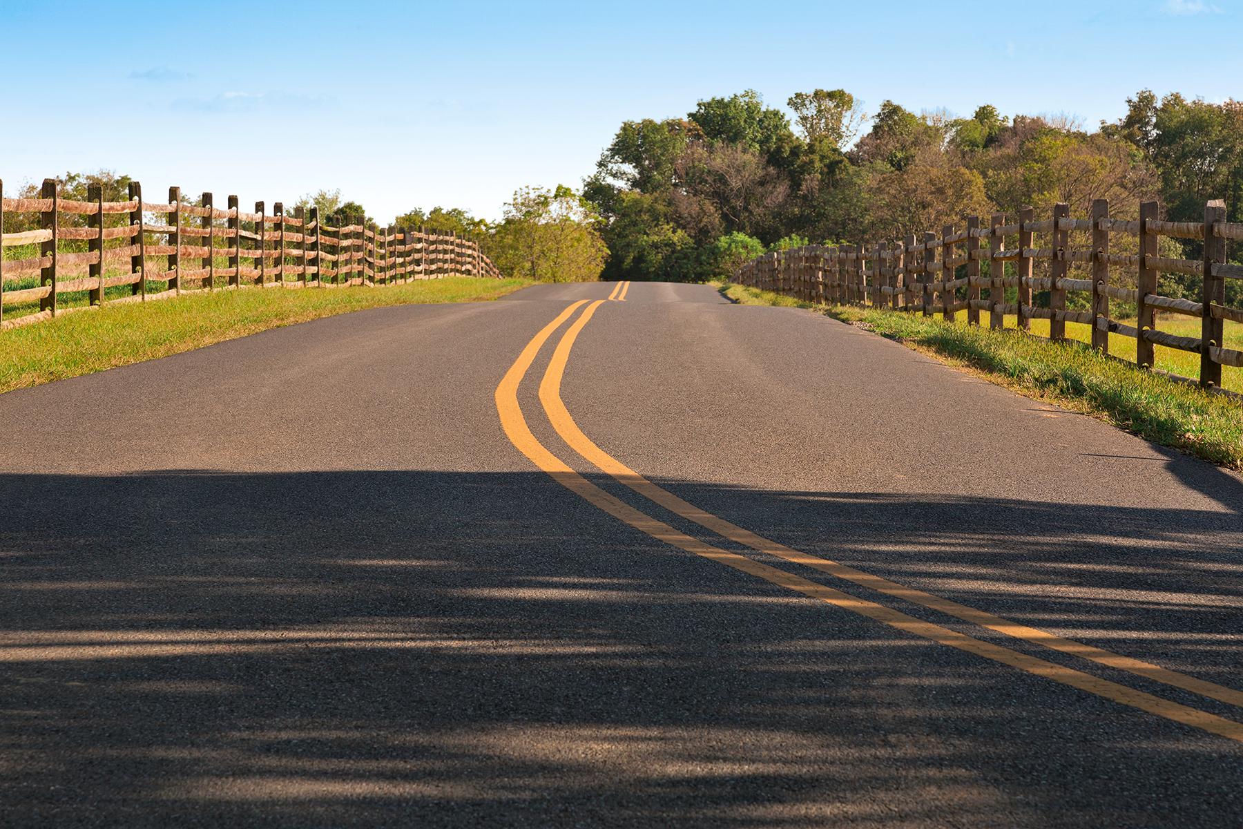 Rural antietam road photo