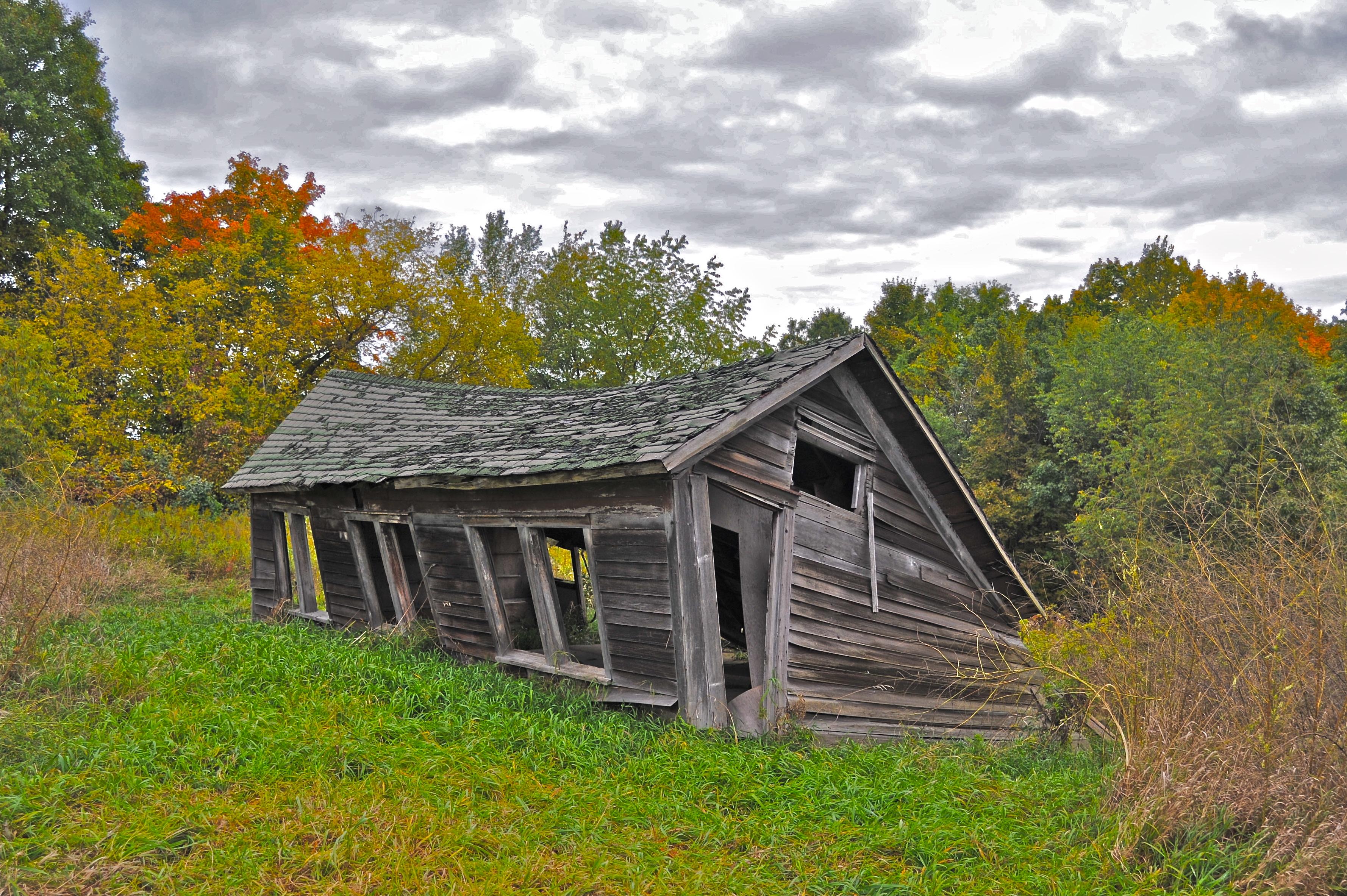 Rural farmsteads, chicken coop photo