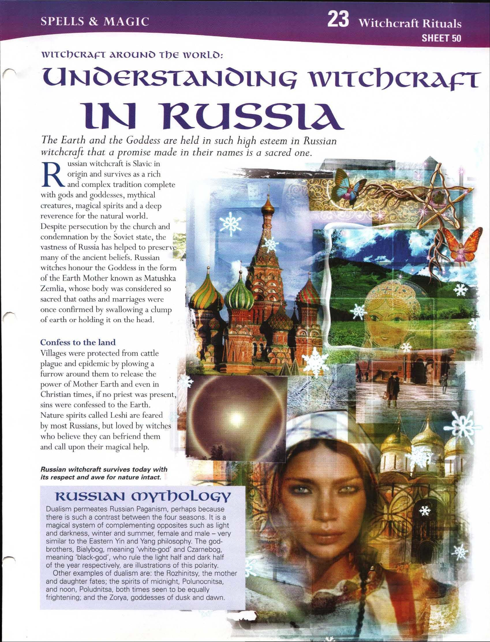 Witchcraft Around the World: Understanding Witchcraft in Russia ...