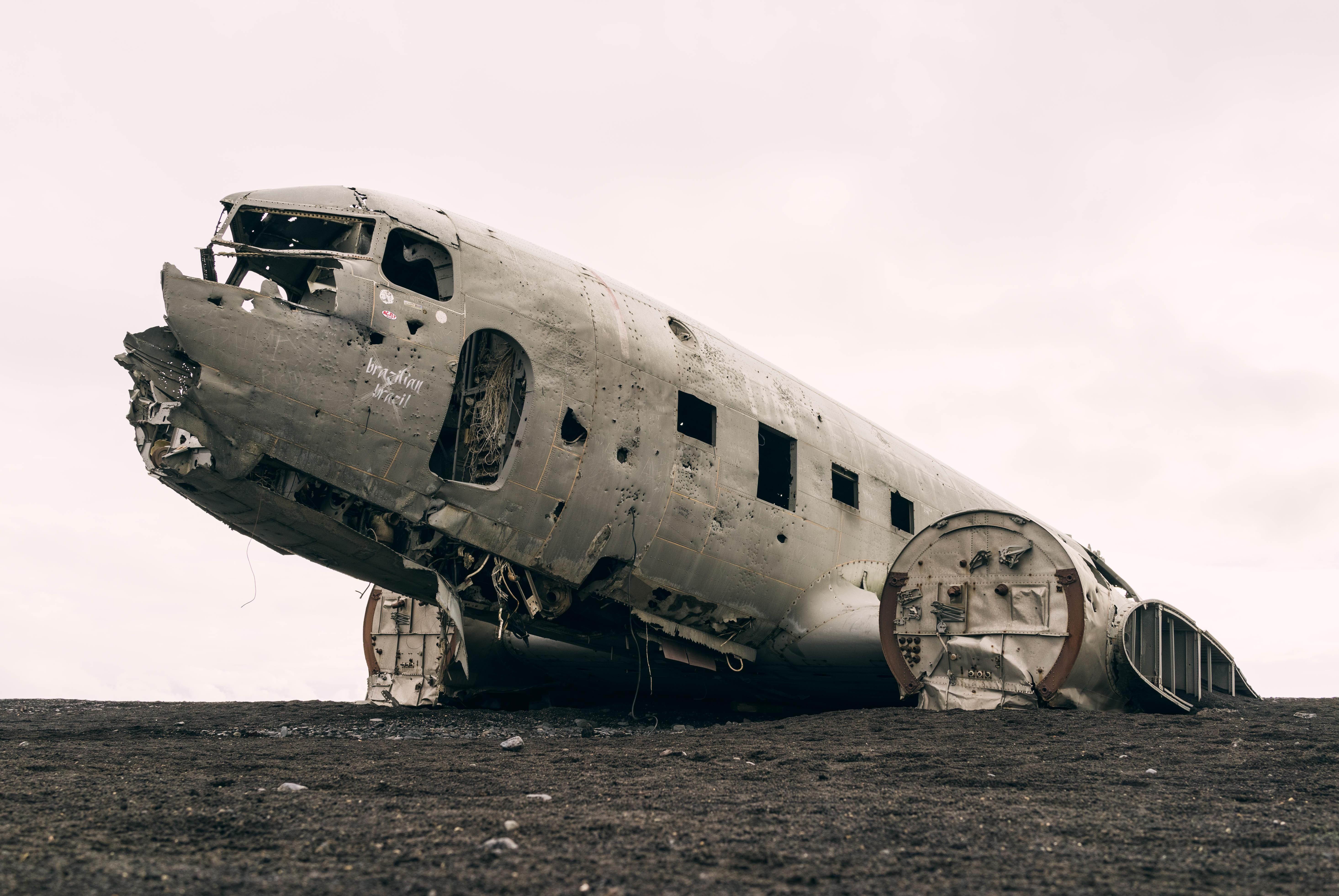 Rust, Air, Airplane, Iceland, Metal, HQ Photo