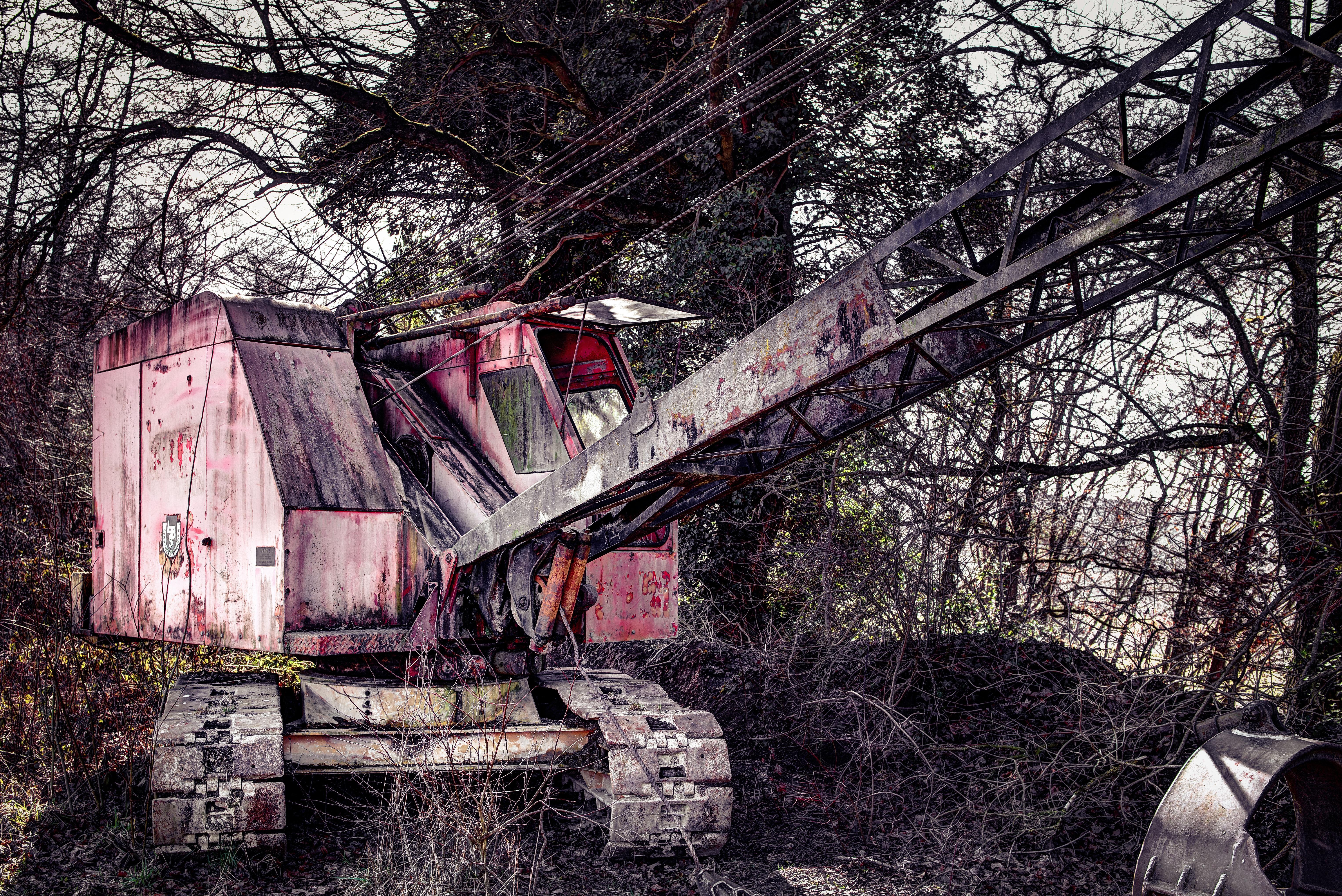 Rust, Construction, Heavy, Machine, Metal, HQ Photo