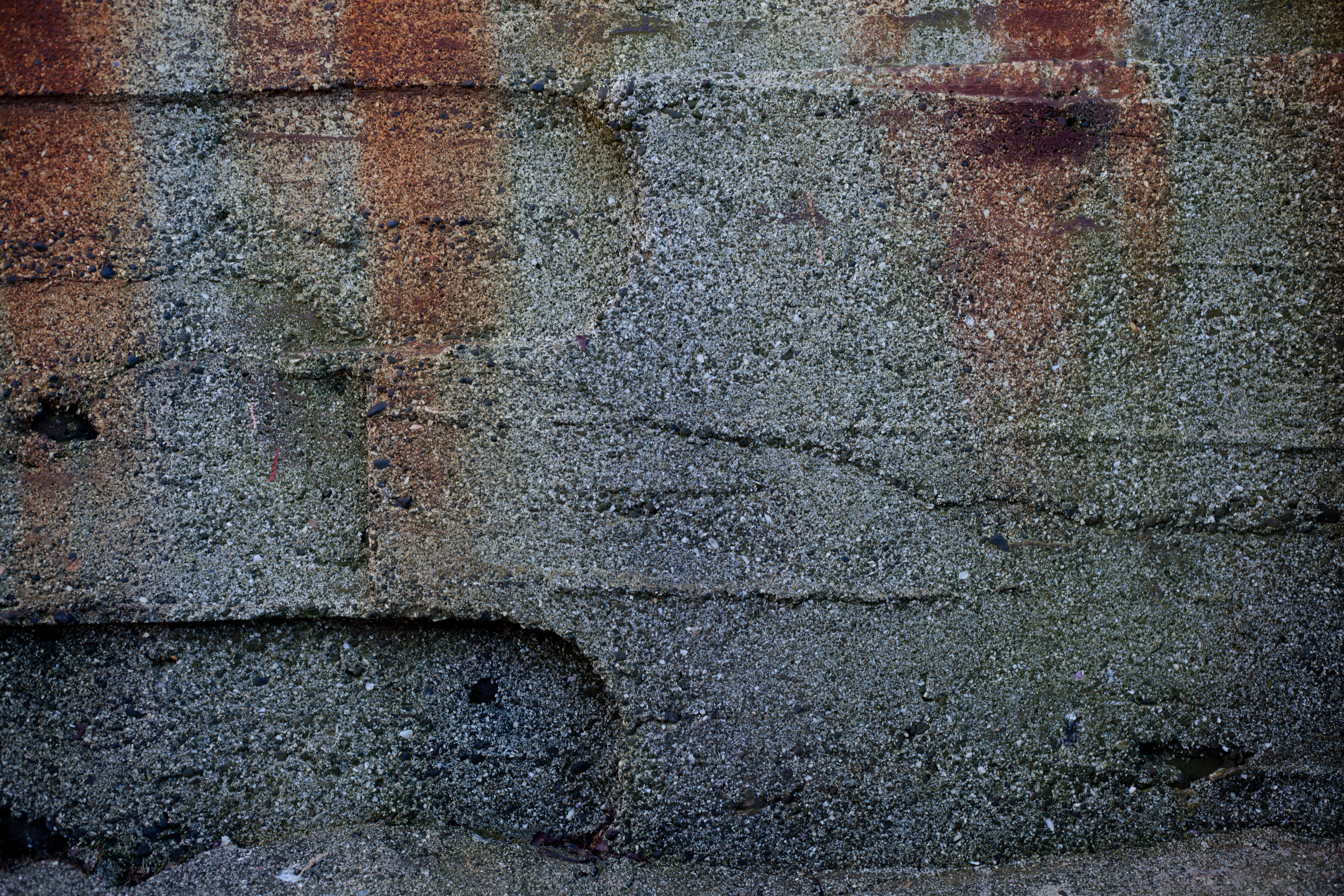 Rust stained concrete wall, Concrete, Dark, Grunge, Grungy, HQ Photo