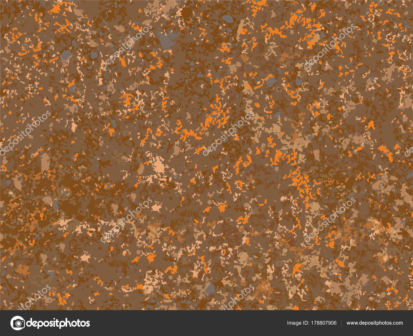 Natural Rusty Texture Imitation Rust Seamless Vector Pattern — Stock ...