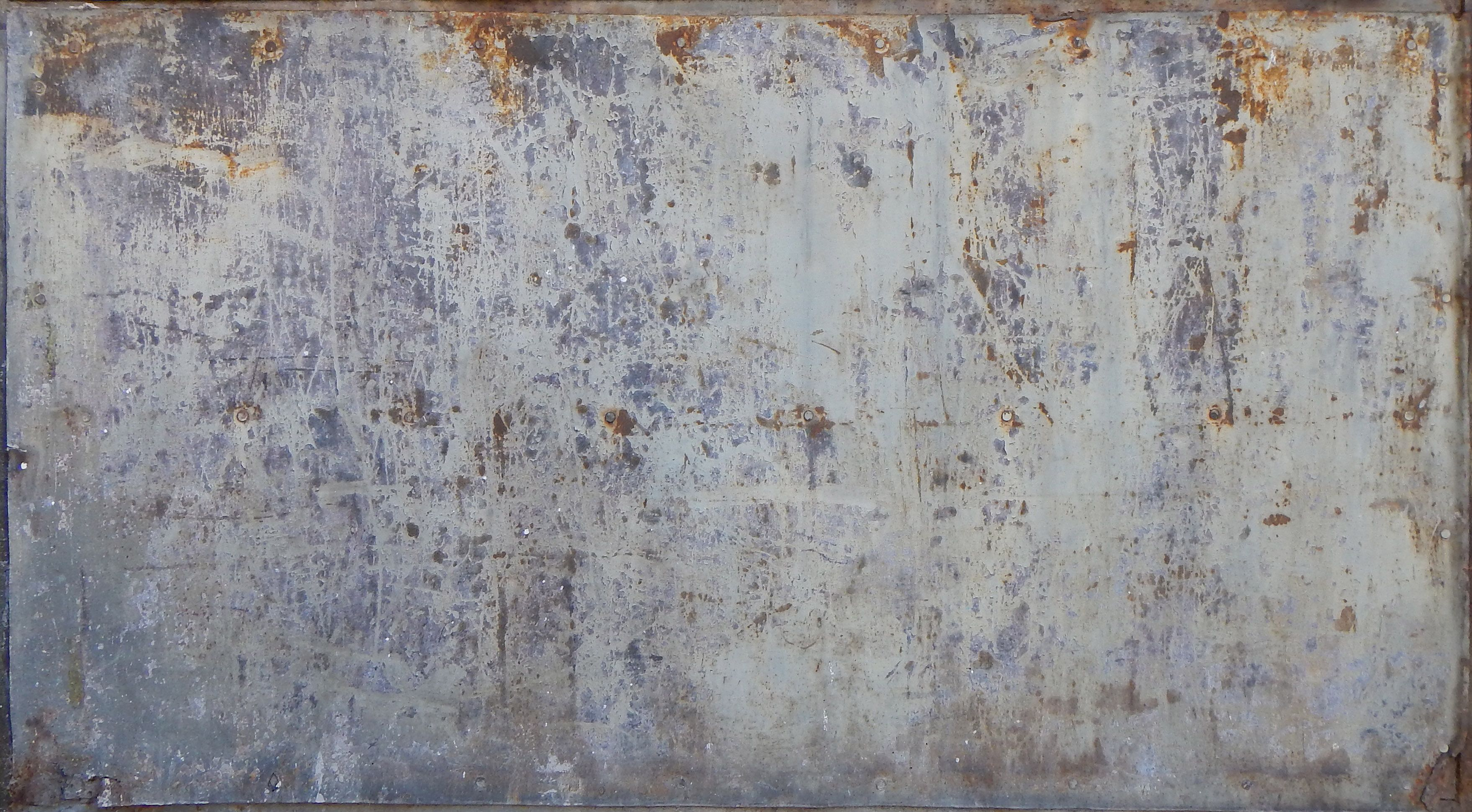 Free Texture - rusty and dirt metal panel - Rusted Metal - luGher ...