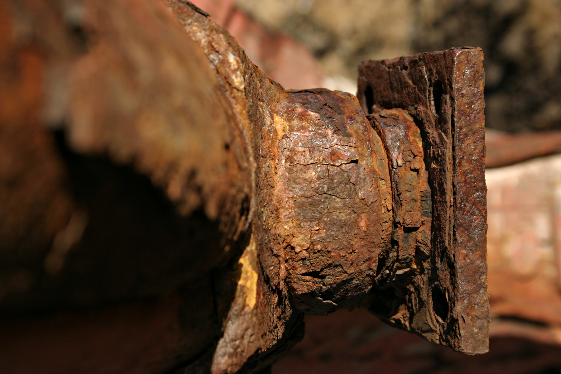 Free photo: Rusted metal object - Corrosion, Metal, Plate ...