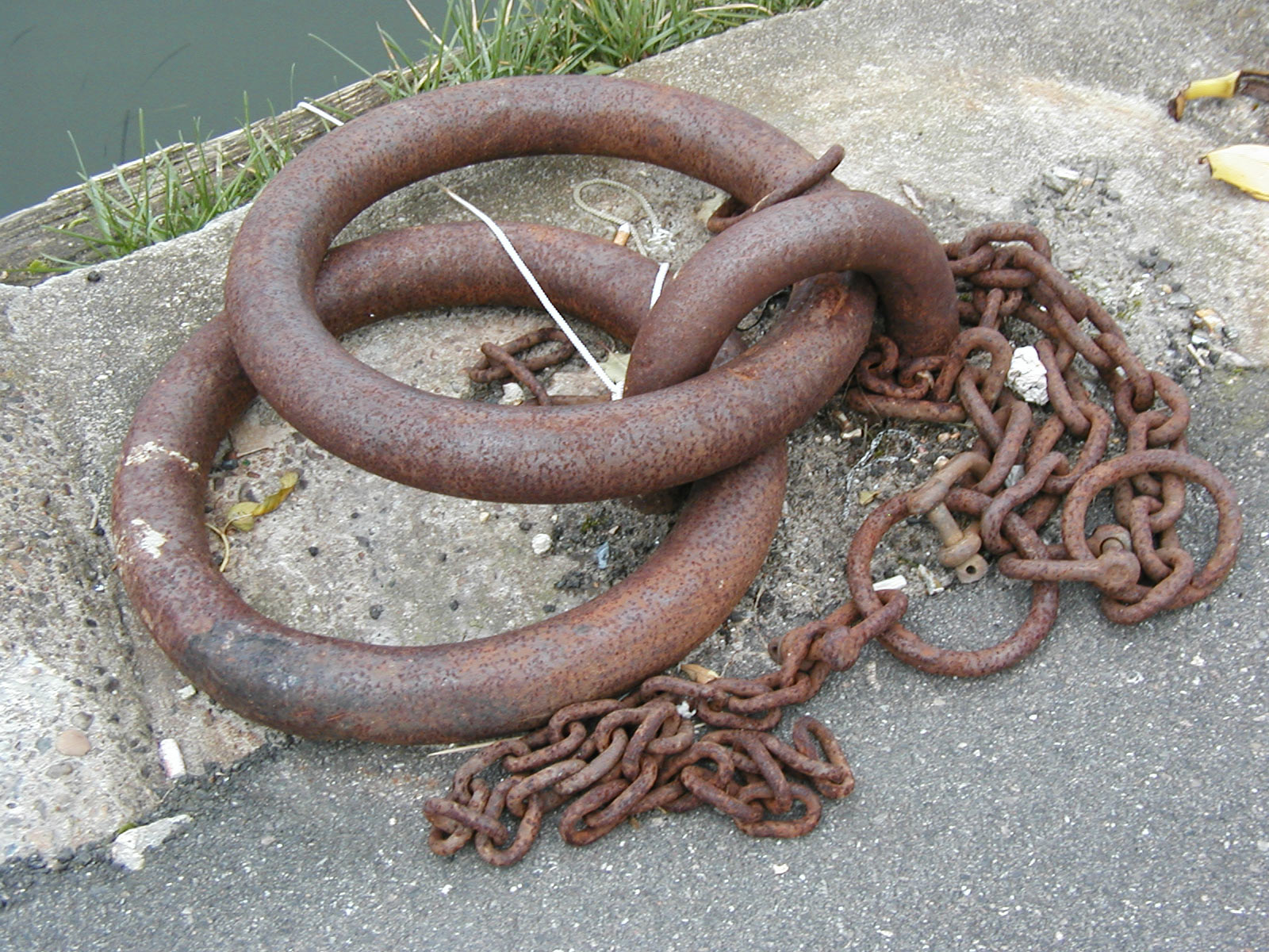 Rusted moor-rings, Rust, Secure, Steel, Rings, HQ Photo