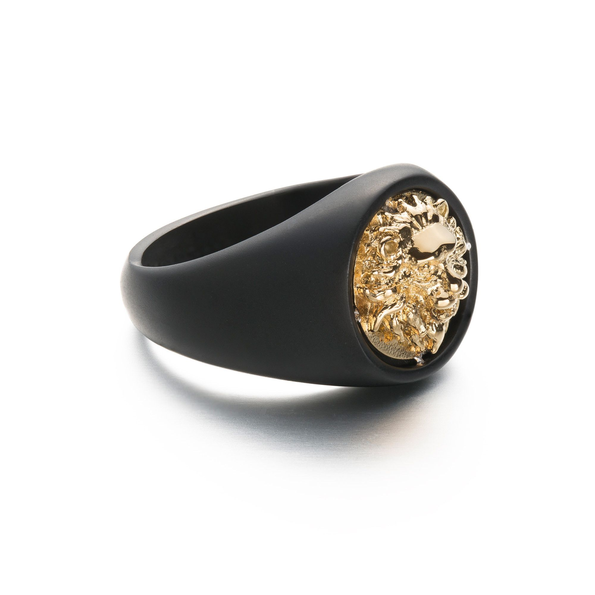 Two Tone Lion Ring - Gold | Lion ring, Lions and Ring