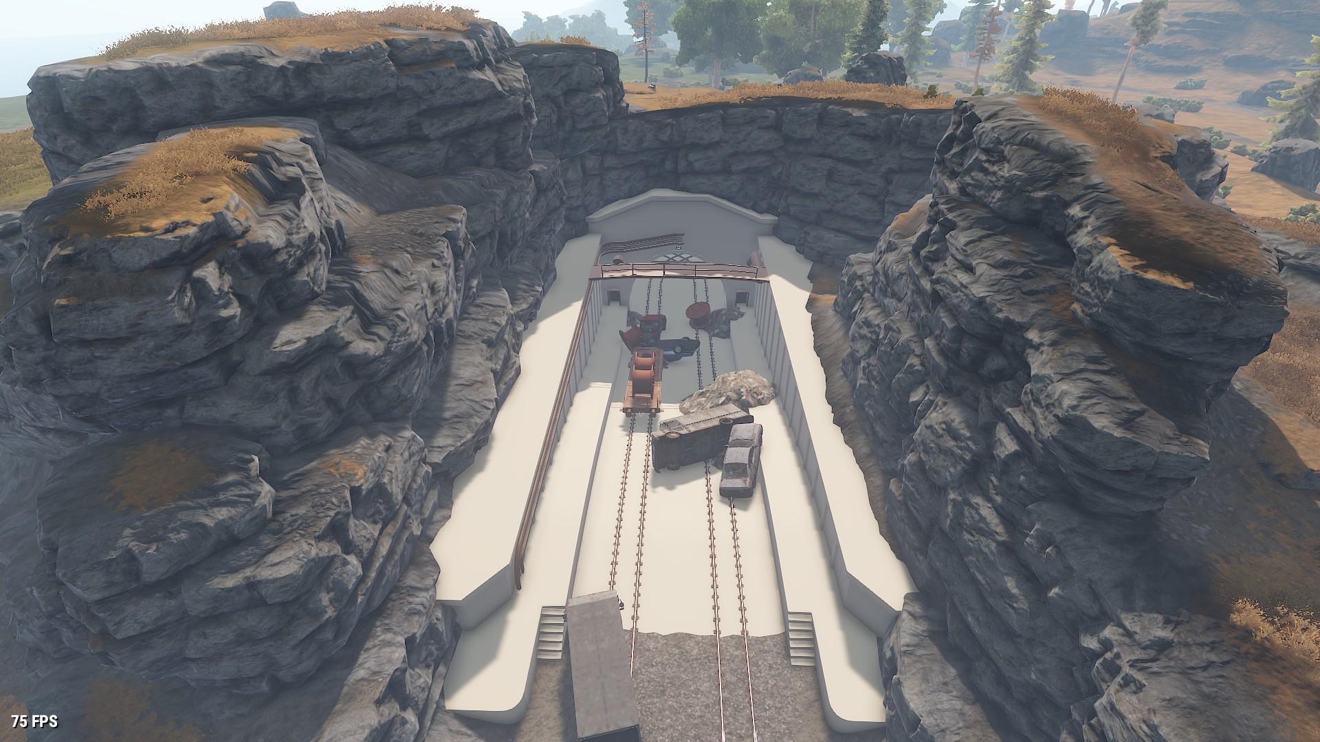 Image - Military Tunnels Entrance.jpg | Rust Wiki | FANDOM powered ...