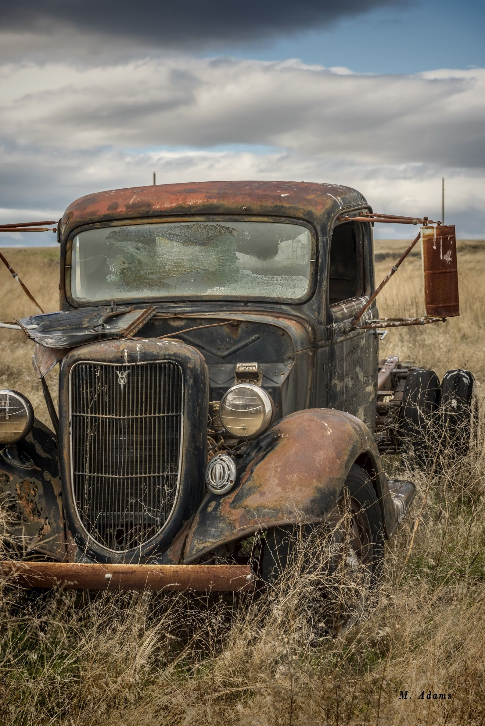 V8 Abandoned Ford ©Mike Adams - Albert Einstein - Google+ | rusted ...