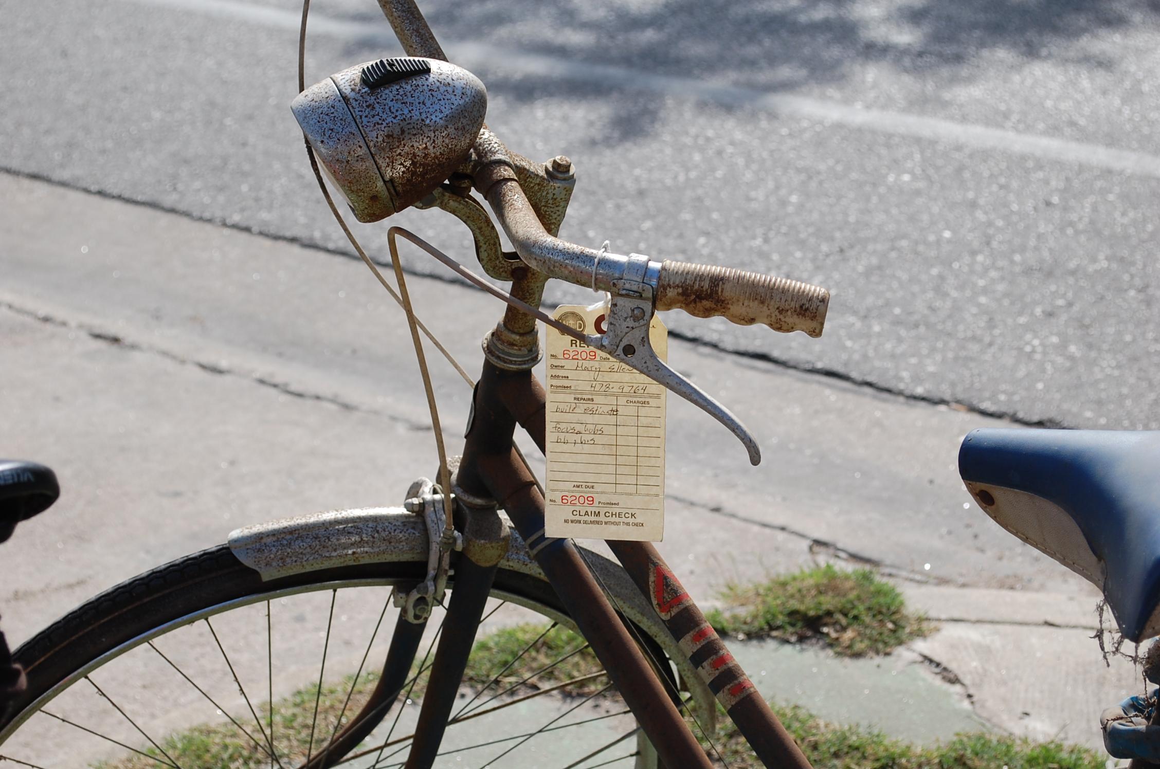 Rustic Retro Bike, Bicycle, Bike, Old, Retro, HQ Photo