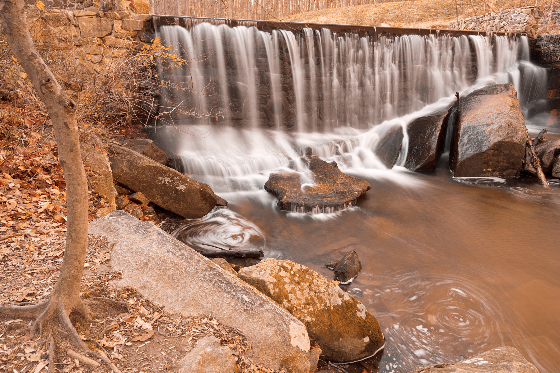Rustic Rock Run Falls, , Shades, Scenery, Scenic, HQ Photo