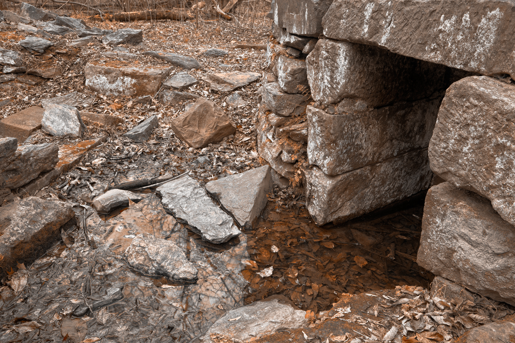 Rustic ruins - hdr photo