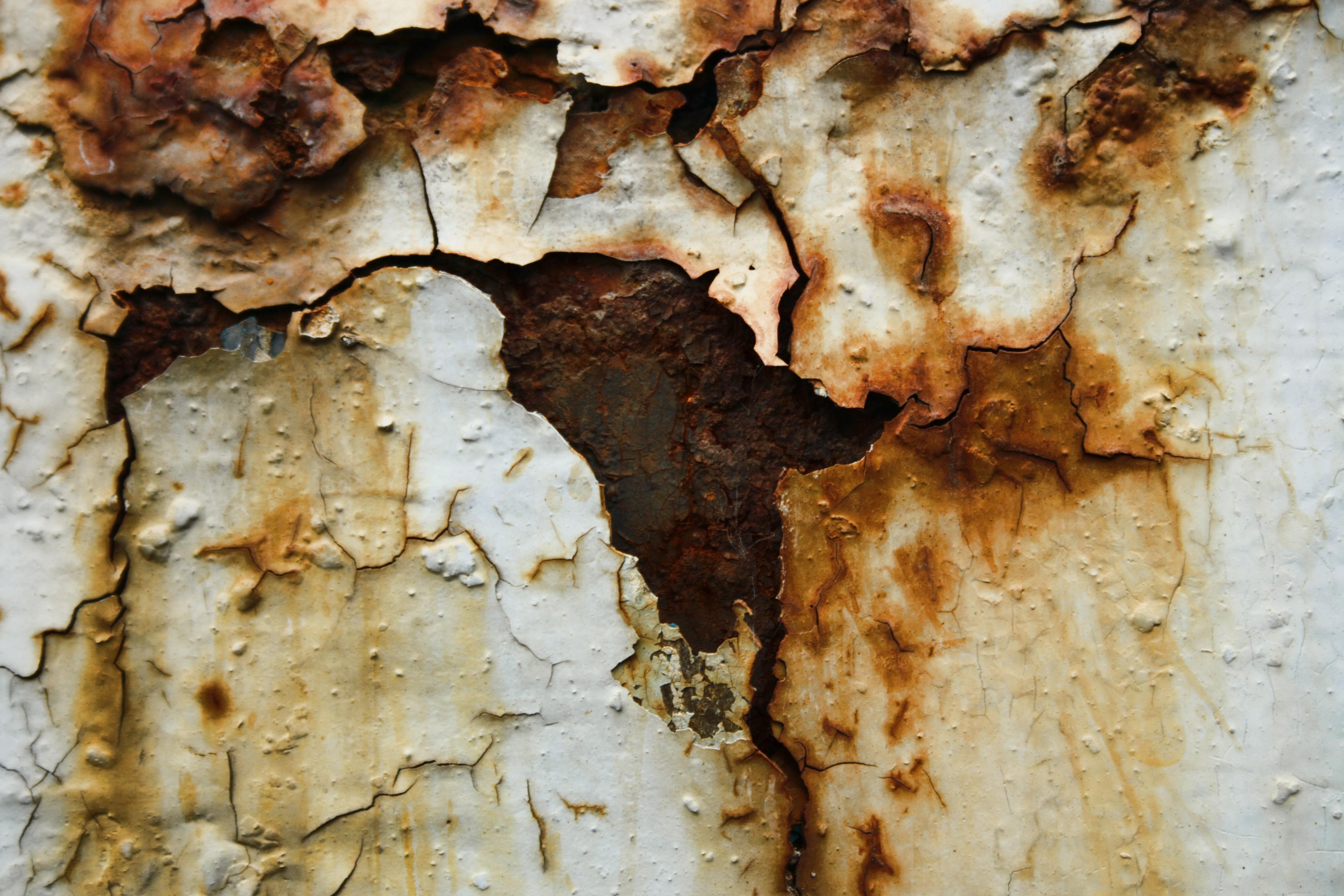 Rusty metal photo