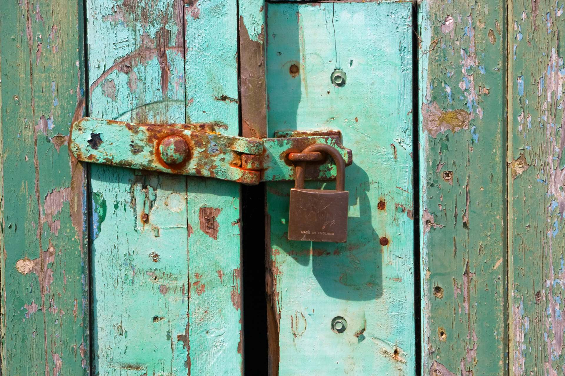 Rusty Old Padlock Free Stock Photo - Public Domain Pictures