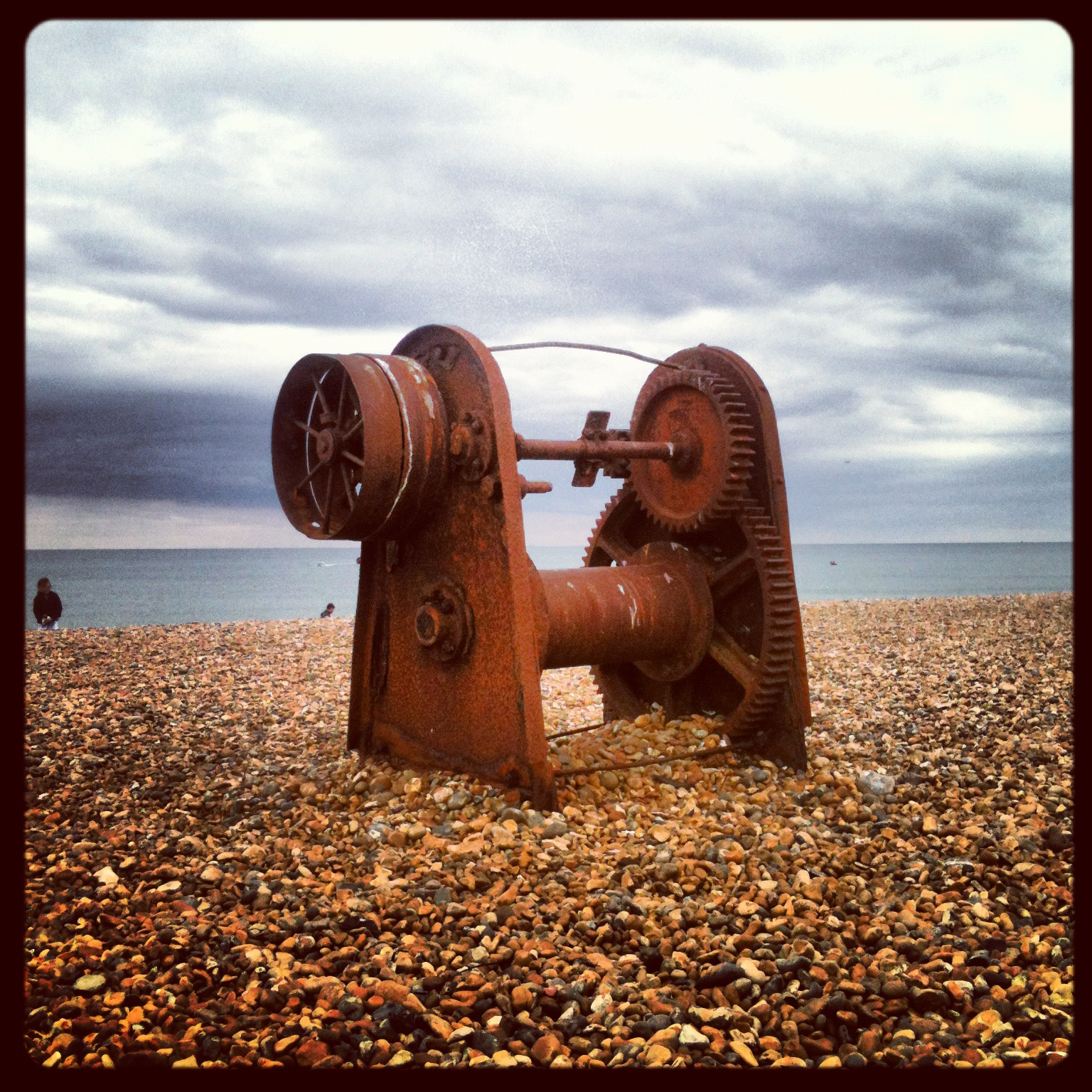 Brighton II: A Rusty Winch