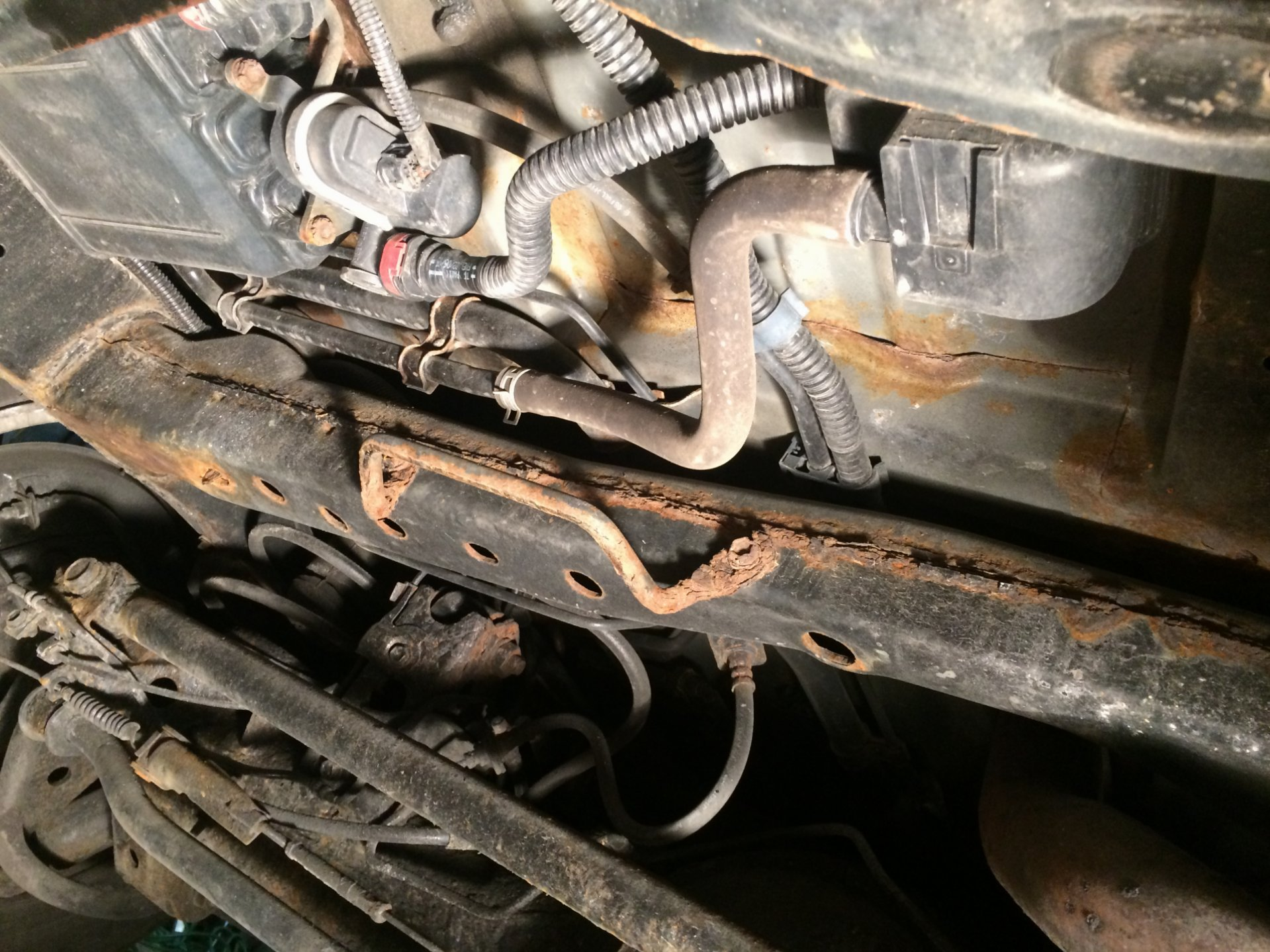 The Rust Cruiser Spare Tire Winch Replacement | IH8MUD Forum