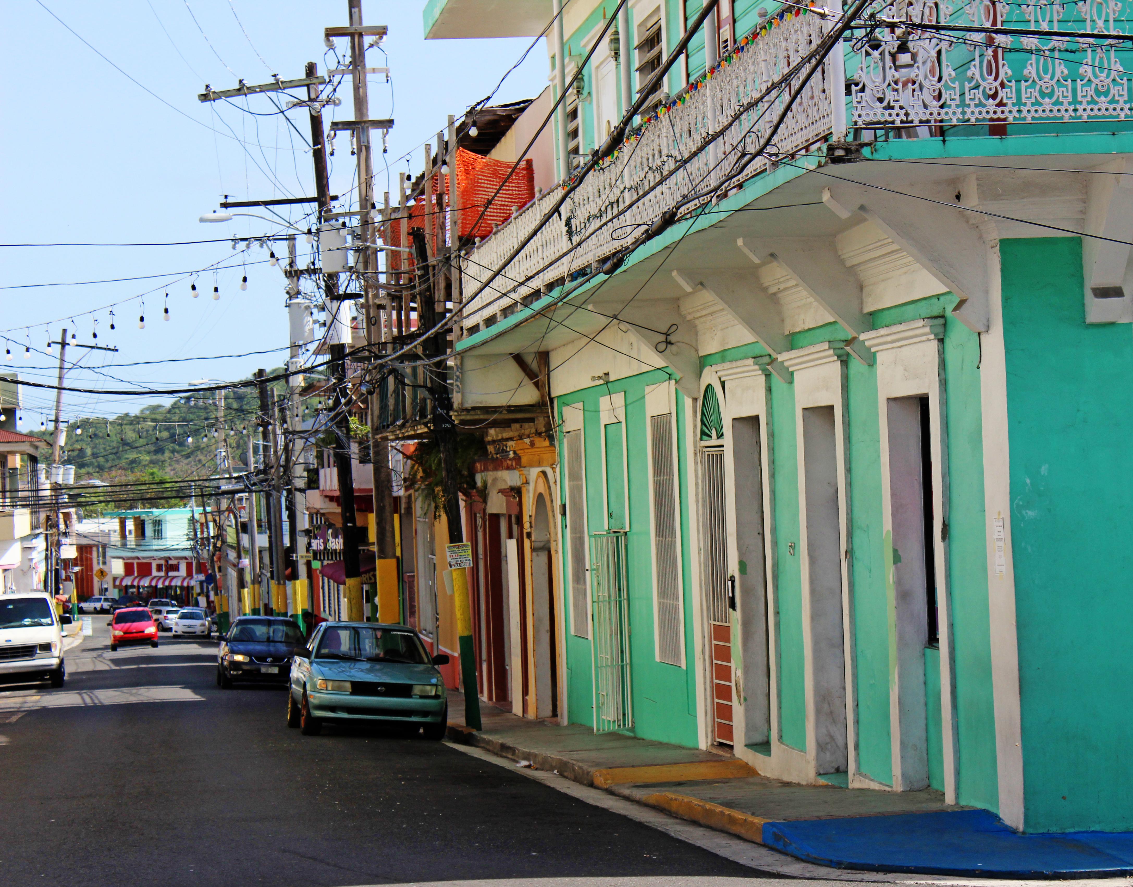 Sabana Grande, Puerto Rico, Building, Car, Puerto Rico, Road, HQ Photo