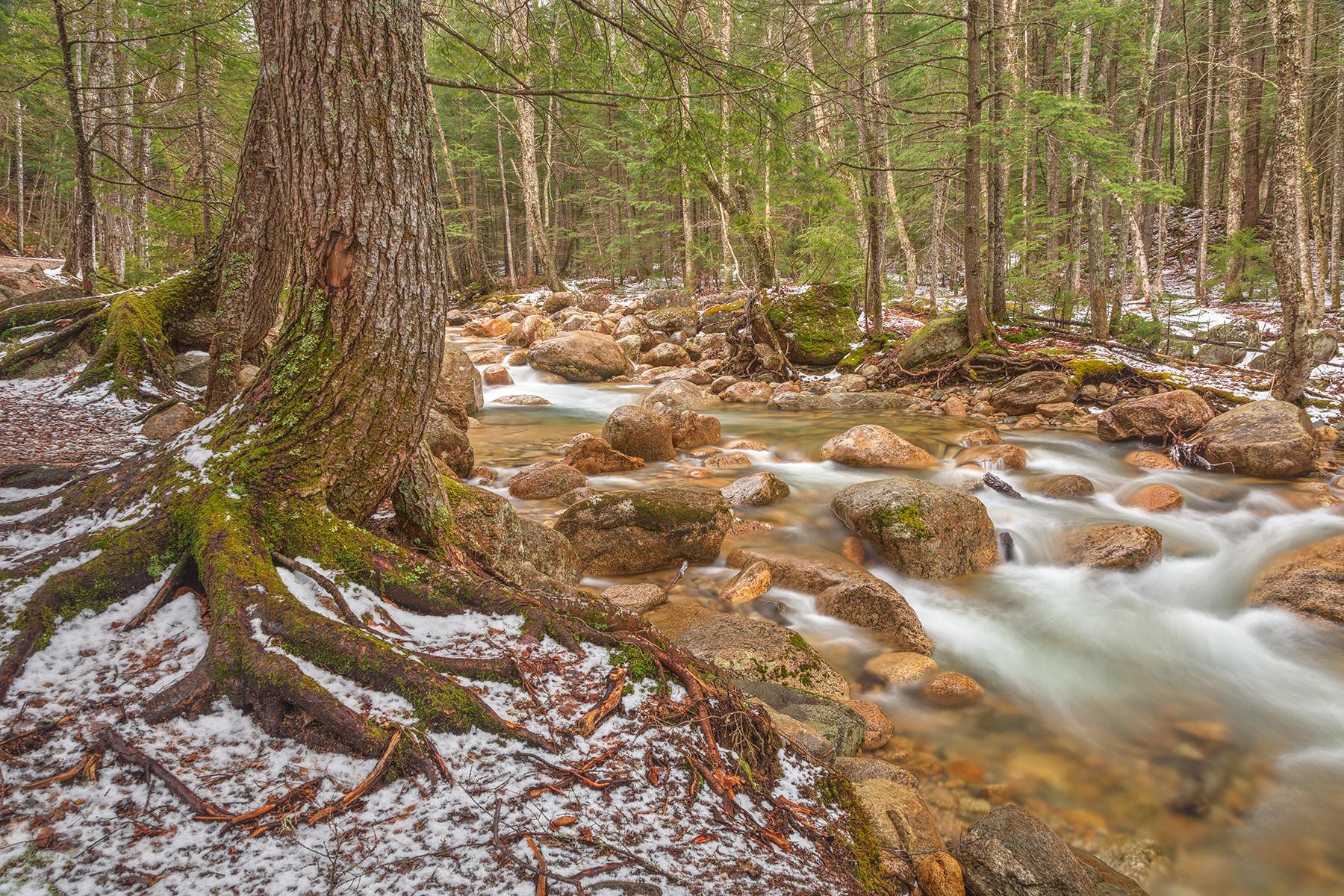 Sabbaday Winter Brook - HDR, , Range, Serenity, Serene, HQ Photo