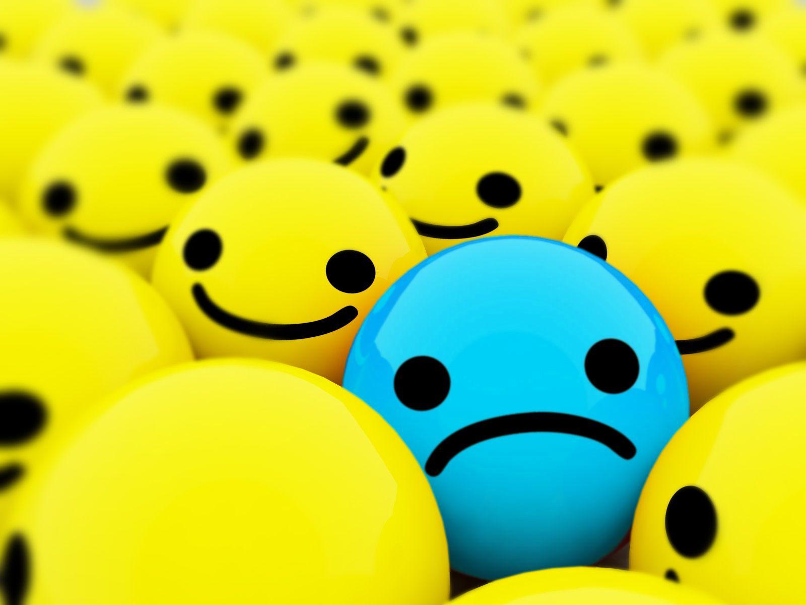 Sad Face Wallpaper - ClipArt Best | smiley faces & emoji's ...