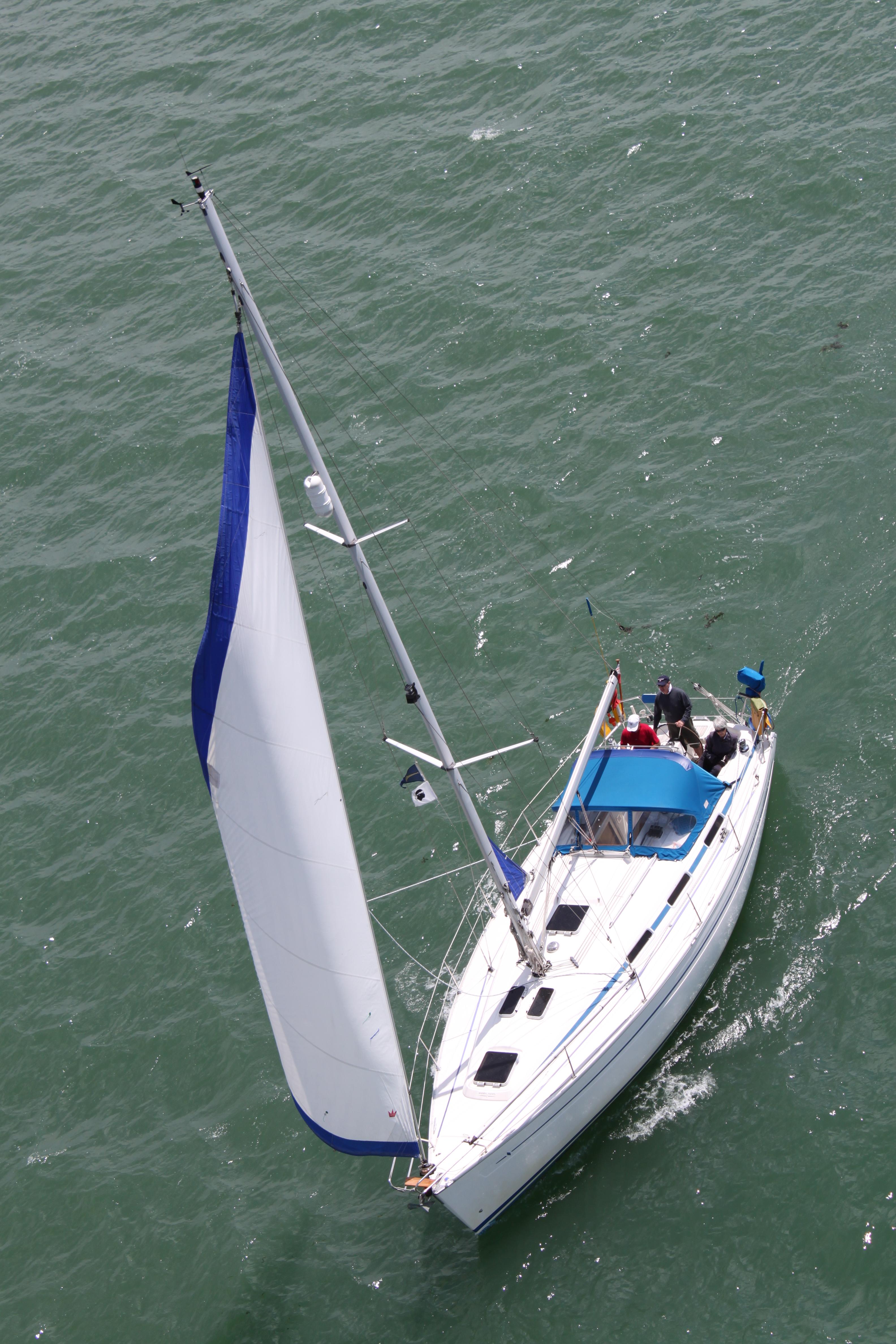 Free photo: Sailboat - Alone, Sea, Vessel - Free Download ...