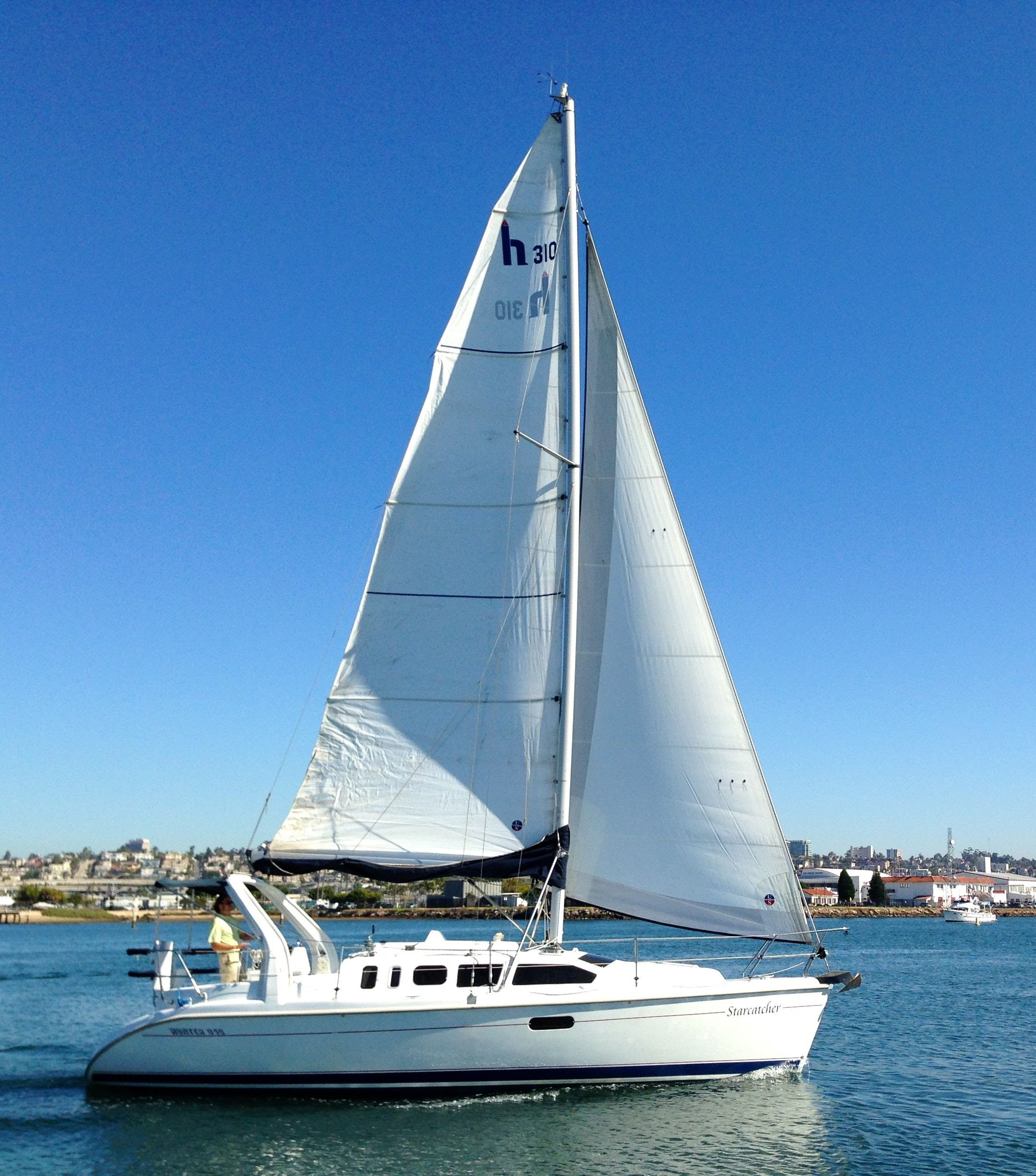 Hunter 310 Sailboat 1999 for sale in San Diego, California By: Ian ...
