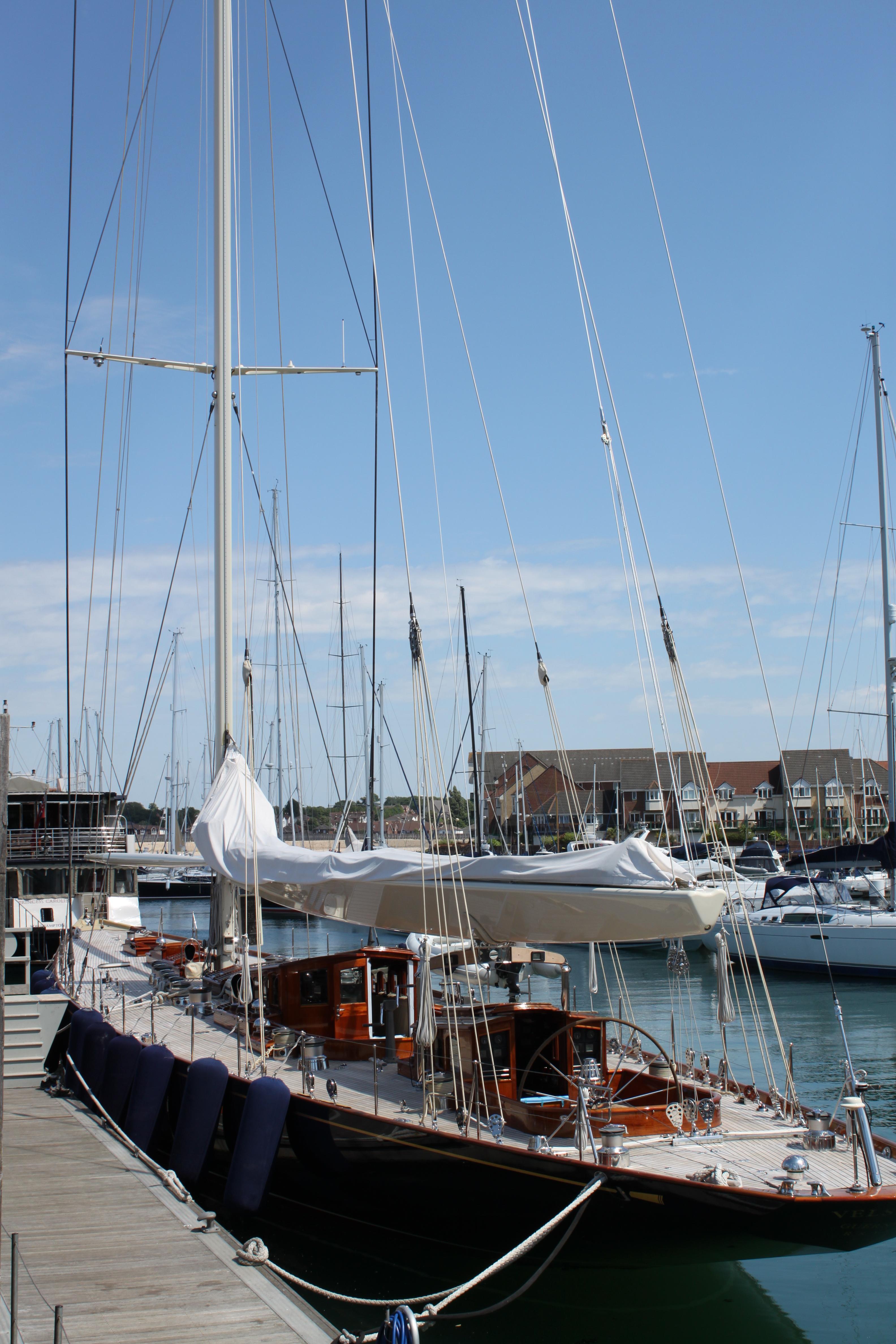 Sailboat, Boat, Mooring, Pier, Sail, HQ Photo