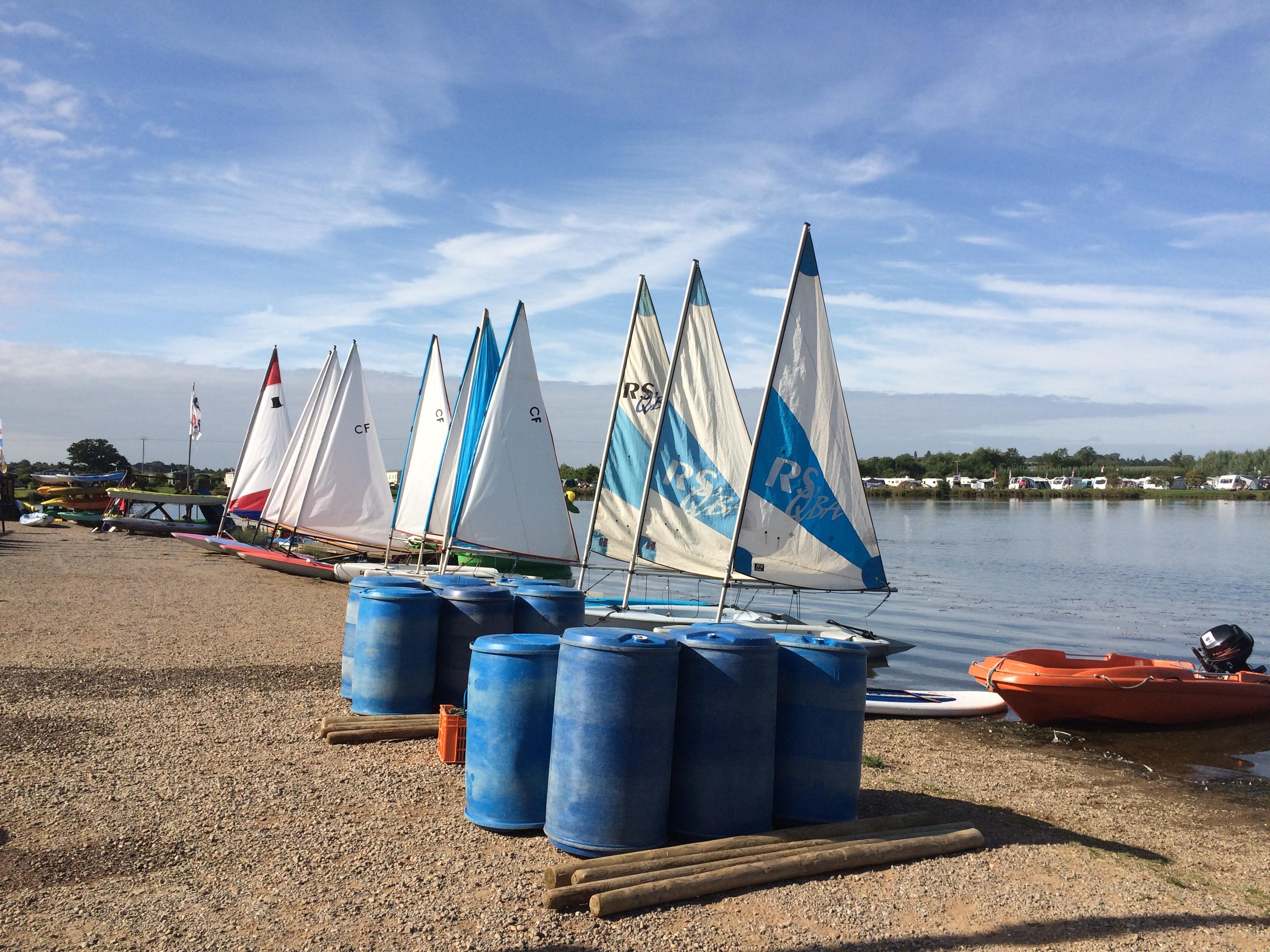 Sailing at cheltenham photo