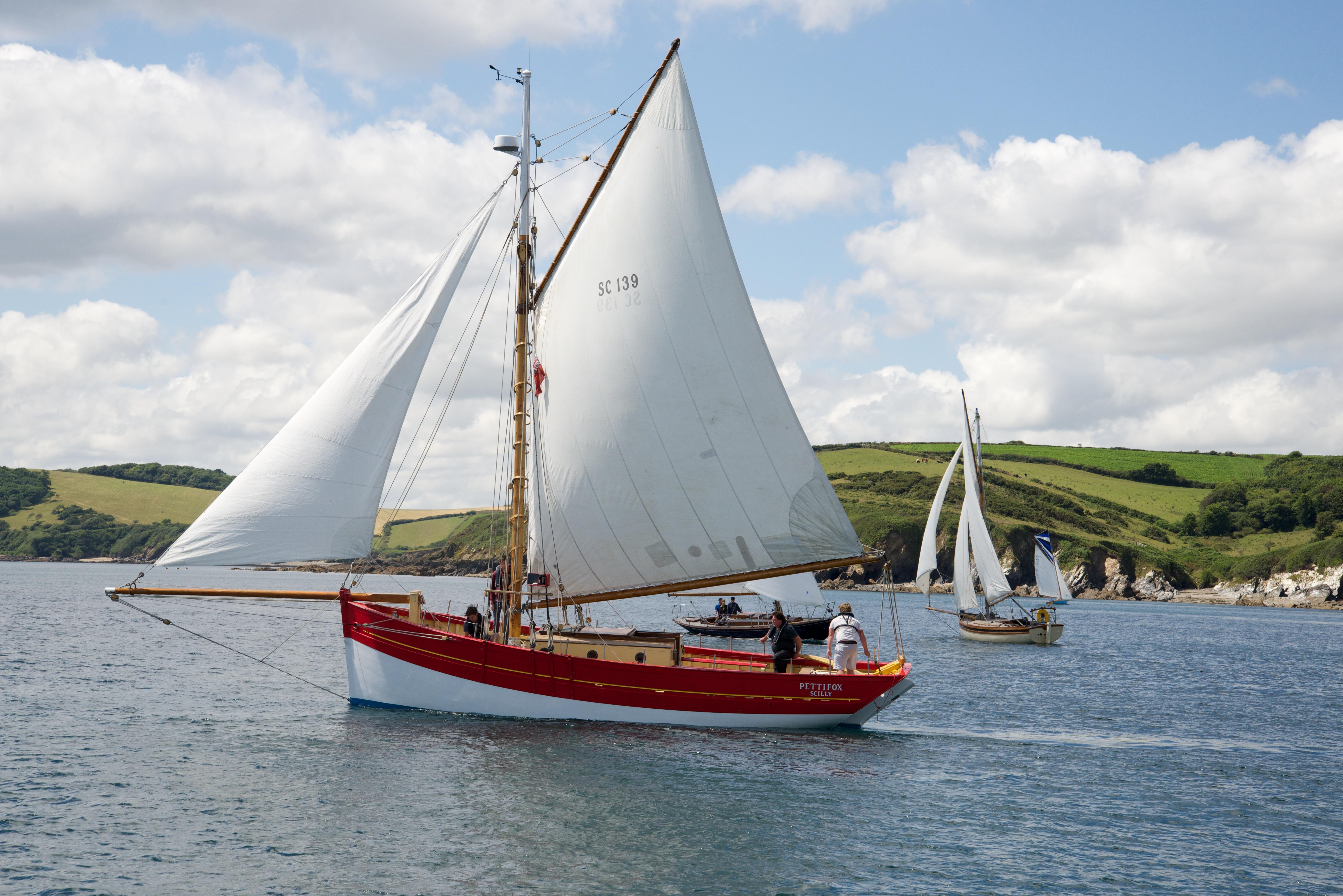 Pettifox Sea Charters - Classic Sailing Boat Trips from Polruan ...