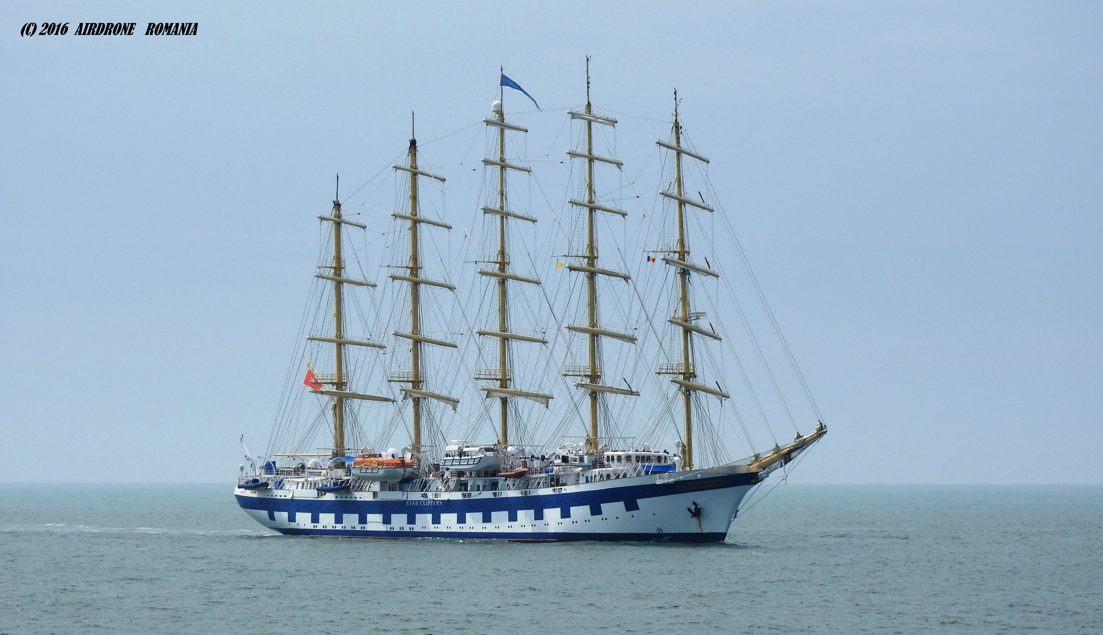 Royal Clipper--The Largest Sailing Ship in the World (drone shooting ...