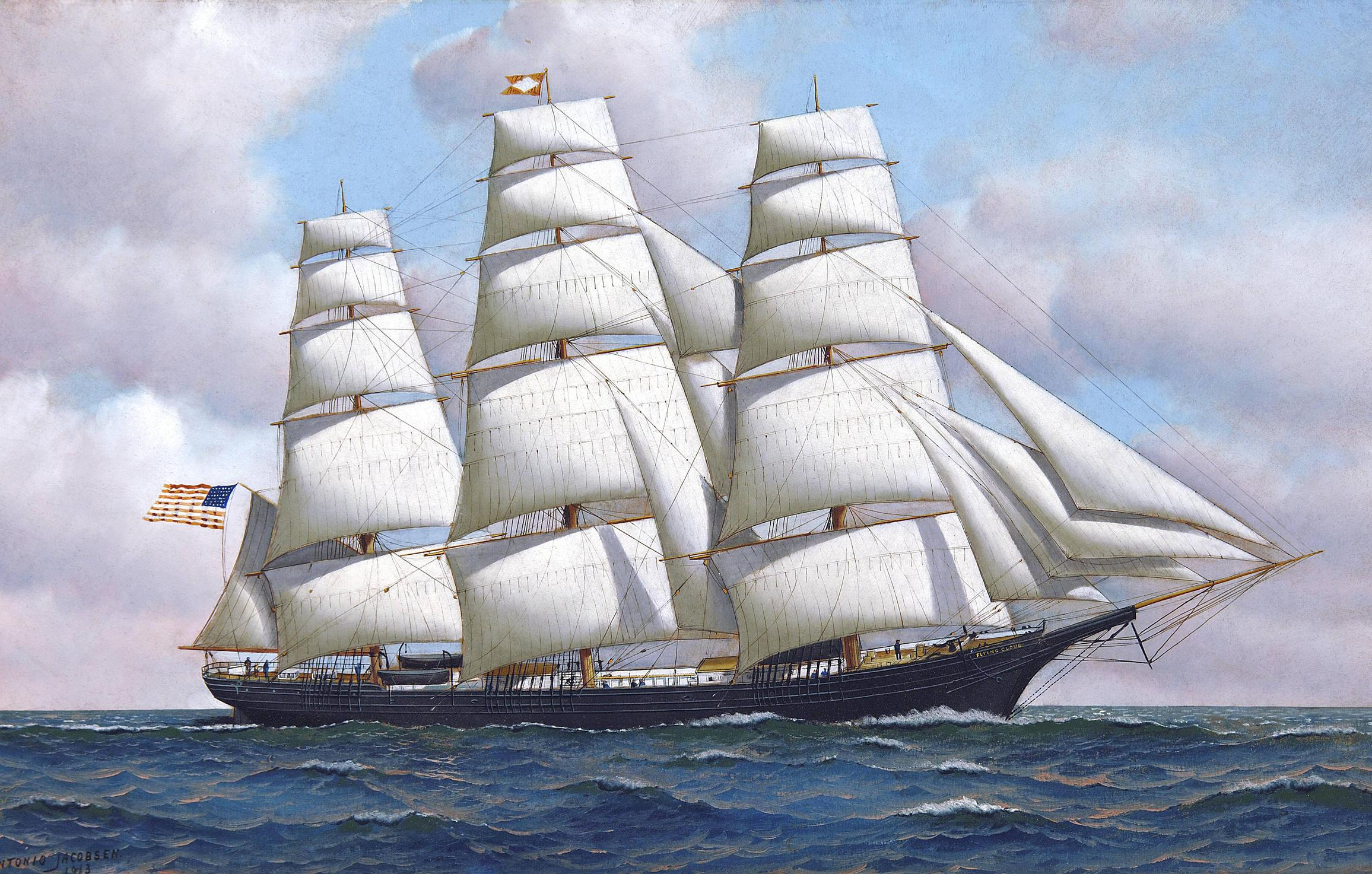 idioms - What's the sailing ship equivalent for