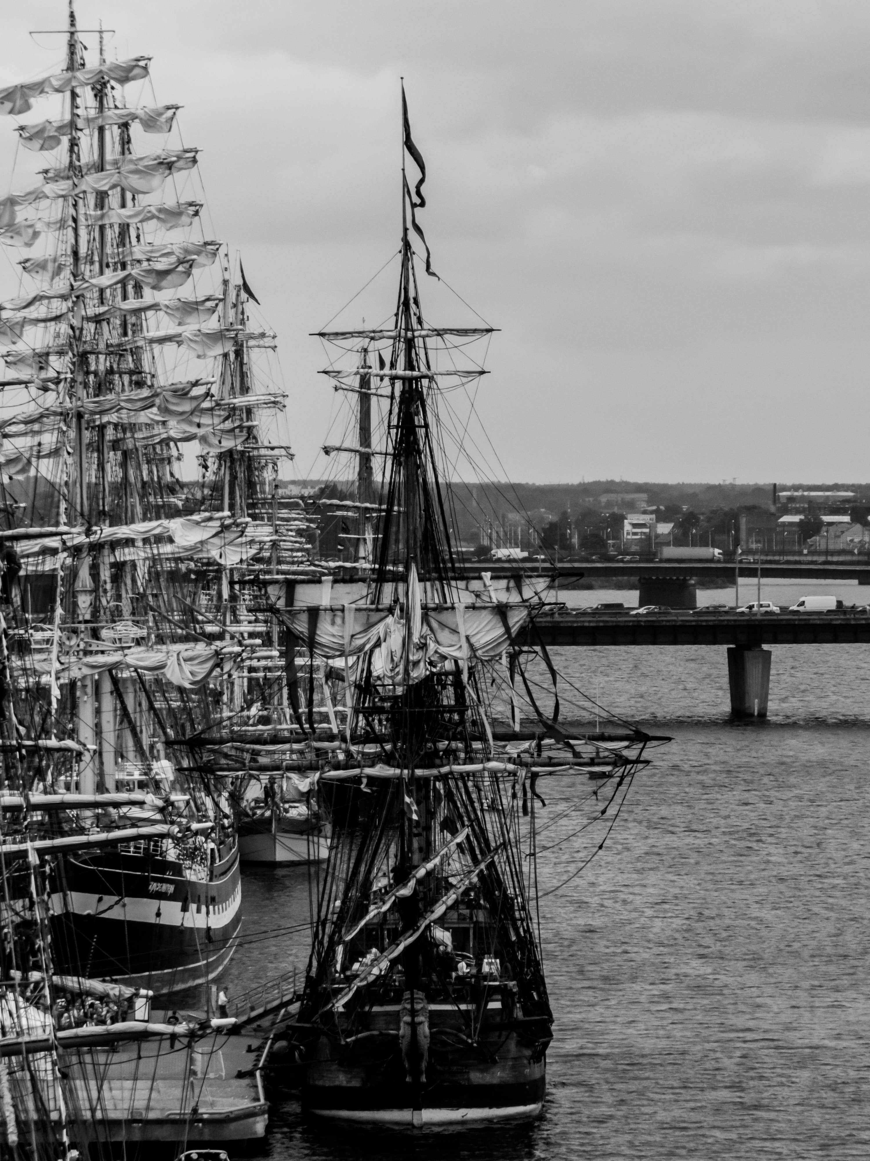 Sailing ships masts, 2013, River, Vessel, Theme, HQ Photo