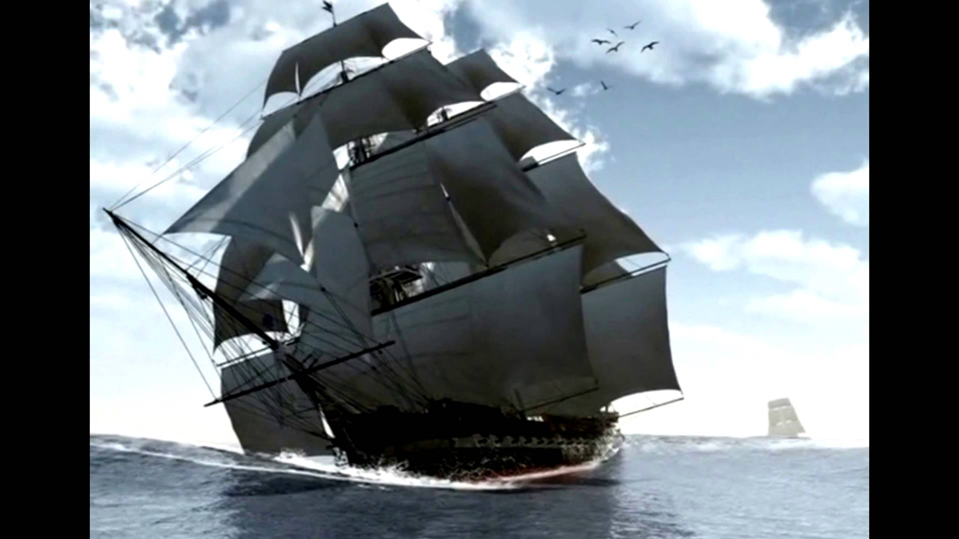 Tall Ships under Full Sail - YouTube