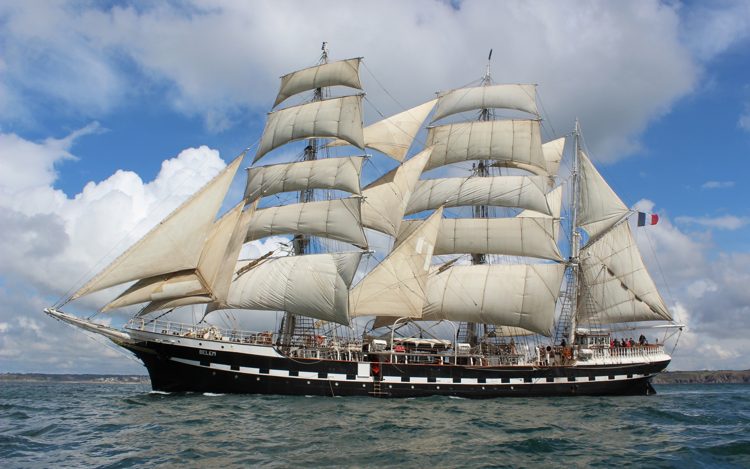 Sail Ship wallpaper | 2560x1600 | 95180 | WallpaperUP